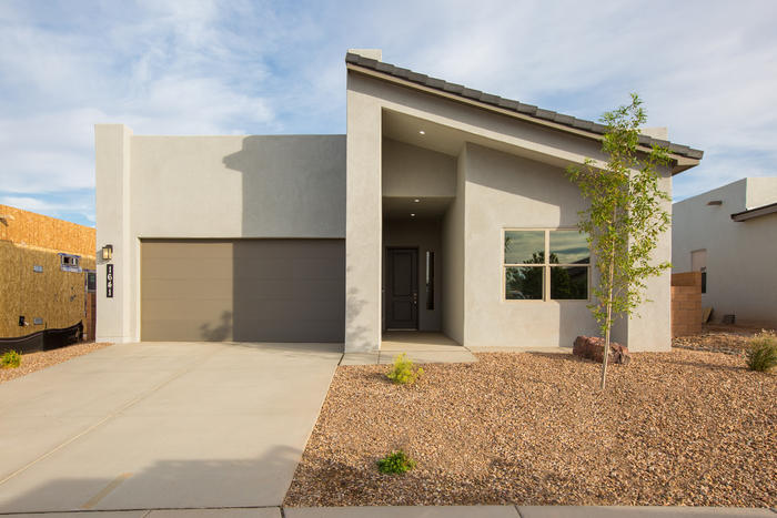 Westway Homes introduces the Luxor, 1948 square feet of modern living. An open floor plan with all the best finishes and amenities. The kitchen features Bosch stainless steel appliances, granite counter tops and an island. The kitchen opens to the formal dining area as well as the great room. The great room features a fireplace and access to a generous covered patio. The master suite is an enormous, private sweet with a walk-in closet. This home is under construction and will be complete in May/June, 2021! Photos are of a different house and do not reflect the finishes.