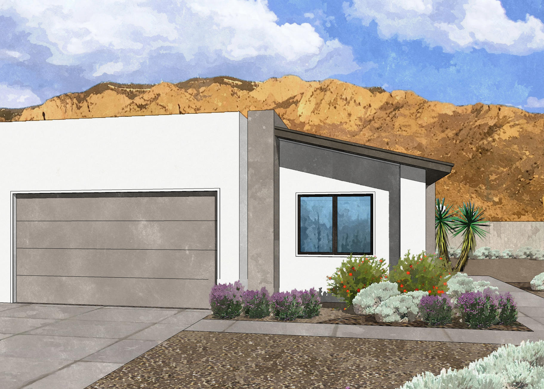 Westway Homes introduces the Rio, 1701 square feet of modern living. An open floor plan with all the best finishes and amenities. The kitchen features Bosch stainless steel appliances, quartz counter tops and an island. The kitchen opens to the formal dining area as well as the great room. The great room features a fireplace opens to a generous covered patio. The master suite is a large with a gorgeous bathroom and large walk-in closet. This home will be ready in June 2021.