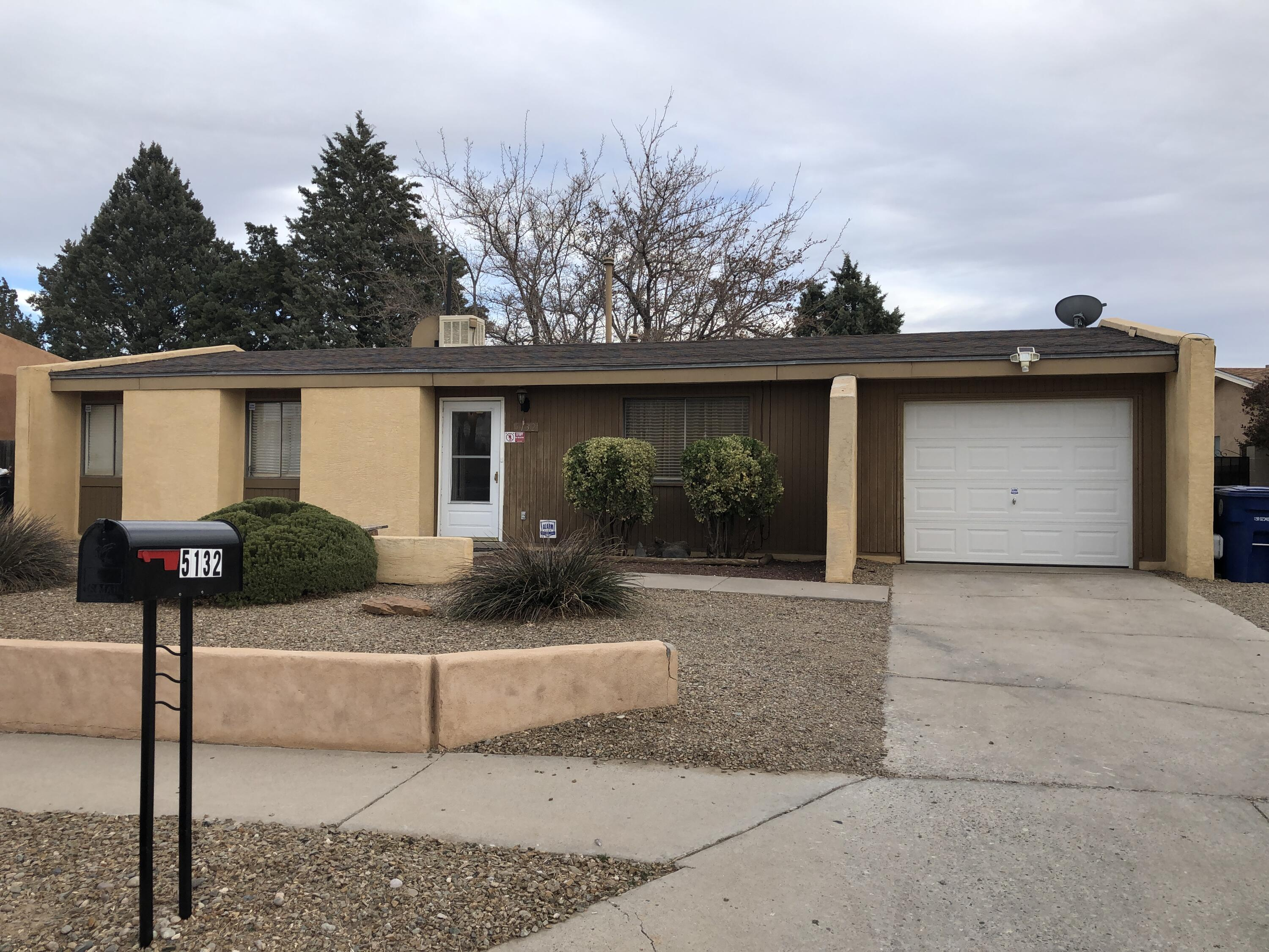 Ready to move in!!! Waiting for the right buyer. This home has a lot to offer.  Roof replaced 2019, cooler 2020, water heater 2018. New laminate flooring, interior doors, counter tops, new vanity in main bathroom. Step out into the backyard to a 13x30 covered patio. Great place for entertaining Large shade tree. 2 storage sheds, trampoline  Children play set stays.