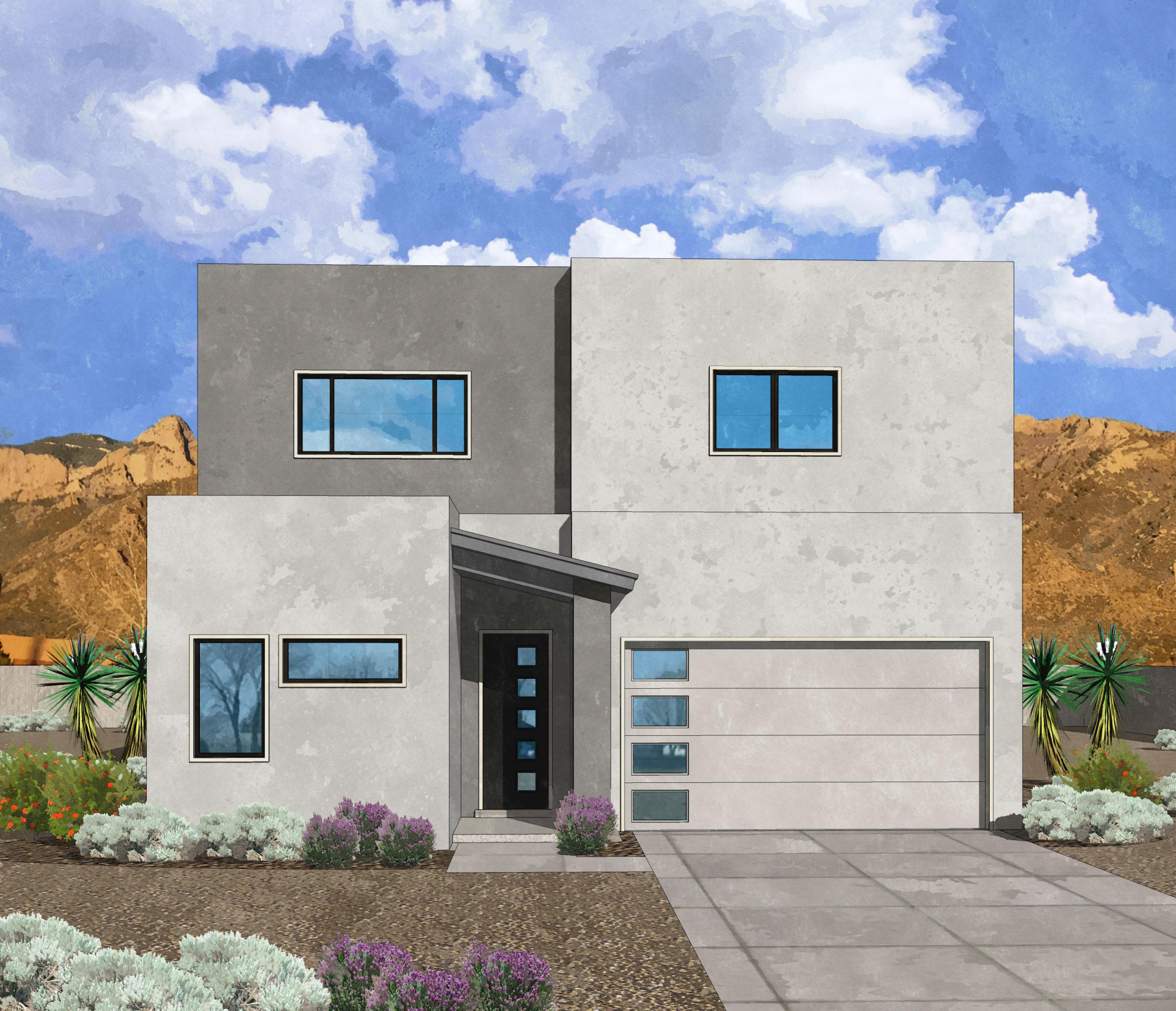 Westway Homes presents our Nugget floor plan. This amazing home features 4 bedrooms and 2.5 bathrooms. The open living/kitchen/dining space is a large family dream come true. The kitchen features our Bosch gourmet appliance package and designer cabinetry. The kitchen also features a giant walk in pantry (approx 100 sq ft). Upstairs is a giant master suite and huge loft area with views towards the bosque and the mountains. This home will be ready to move in to in June, 2021.