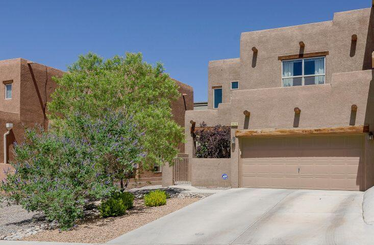 Spacious bright and open home in highly desired gated area of Cabezon. Close to lots of amenities: great parks, schools, pool, shopping, hospital, theater, mall. Large living areas, nice open lofted floor plan. 2 bedrooms with full baths, walk in closets, Huge loft has potential for 3rd bedroom if needed.*photos are for illustrative & staging purposes only*