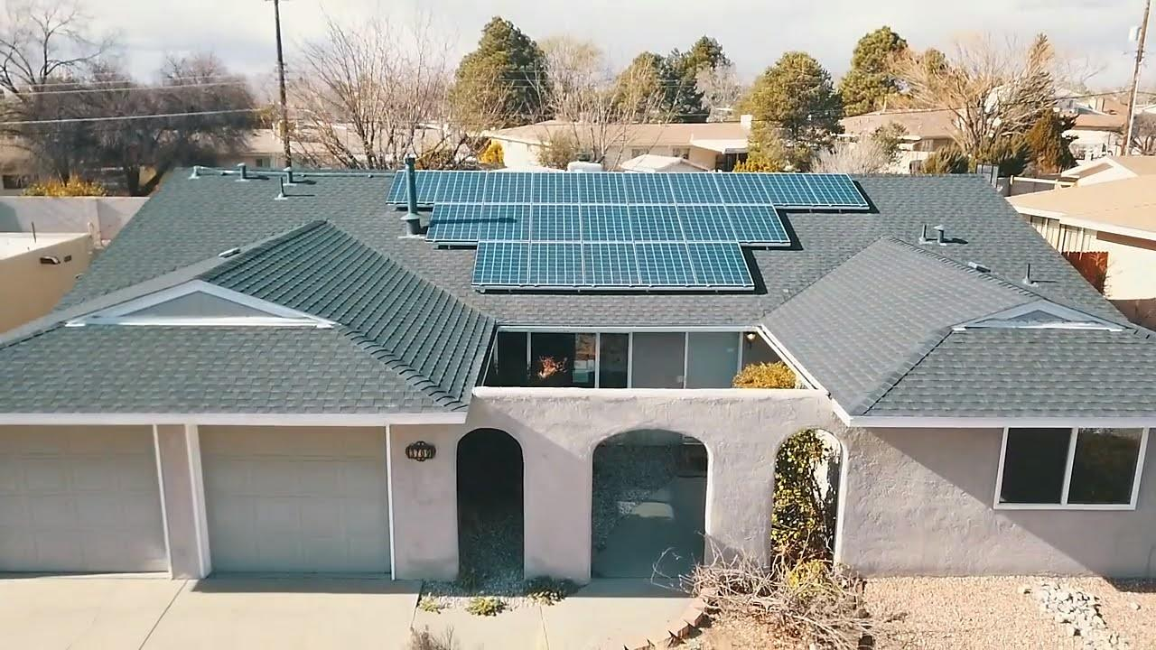 3 Bed 2 bath home with solar in a quiet neighborhood. Sunroom in the back, granite counters, large garage, storage shed., and 1/2 a block from a park. This home needs a deep clean but is going to make somone a really nice home.