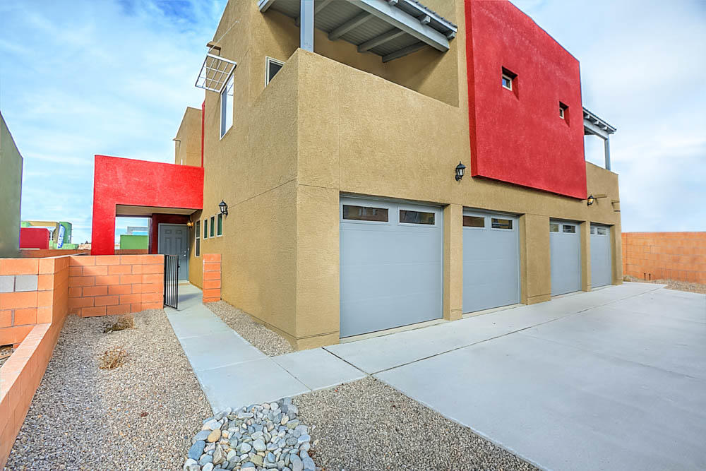 This stunning 3 bed, 2.5 bath home has an open floor plan with an abundance of natural lighting. The first floor is wide open and spacious and includes a chef-ready kitchen with stainless steel appliances, granite counters and a breakfast bar. The family room connects to the expansive covered patio. The master suite on the 2nd floor also has its own private covered deck, walk-in closet, master bath with a double-sink vanity, as well as a separate tub and shower. Additionally, this townhome also includes a fenced yard and two-car garage!