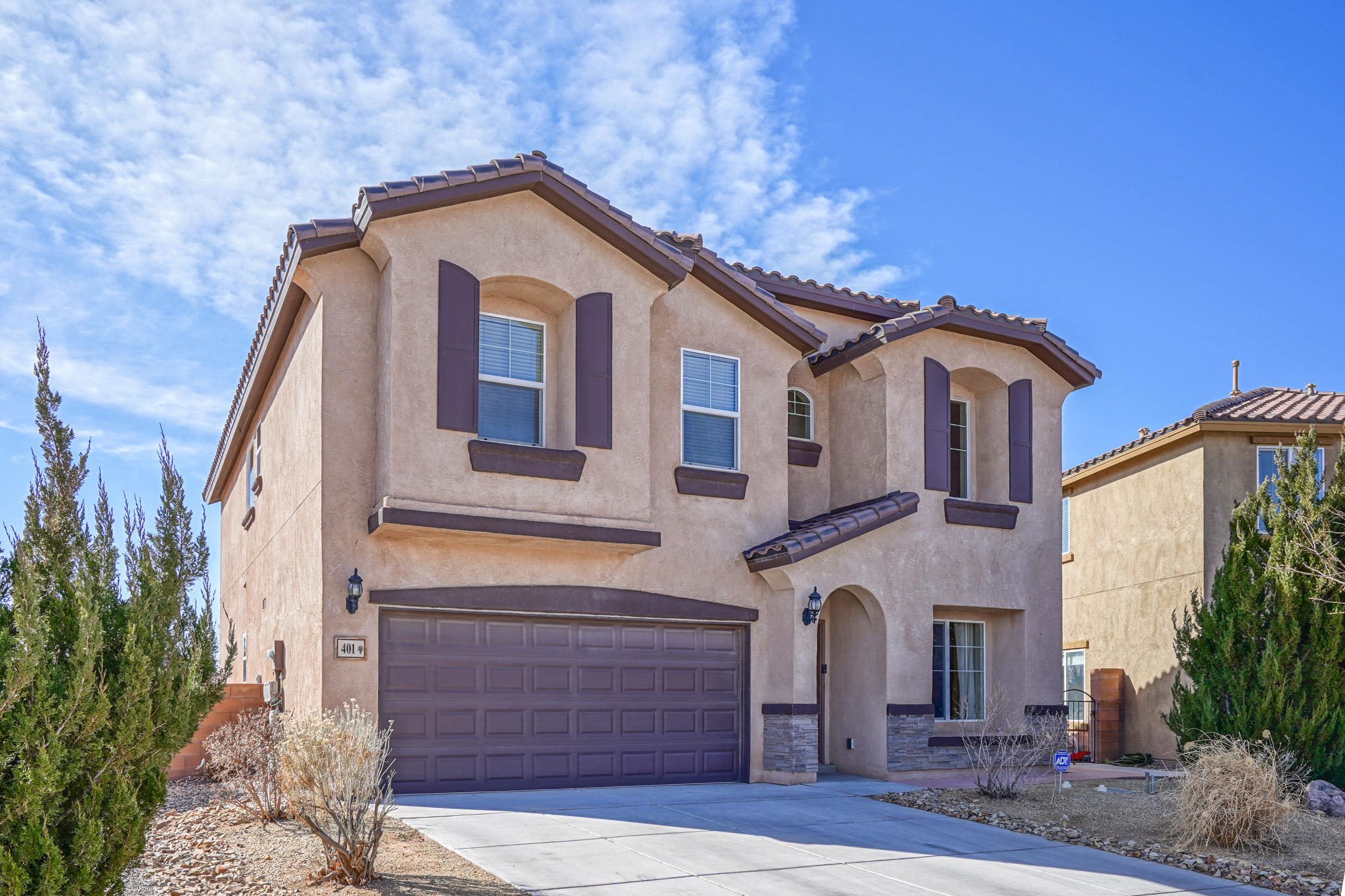 Open House Wednesday 3/3 from 3- 6:30 pm. 4 Bedroom Loma Colorado 2 story Great Room Floor plan - Isadora plan. Spacious Dream Kitchen features large breakfast bar island, walk in pantry. Luxurious Owner's Suite - double sinks, garden tub, separate shower, 2 walk-in closets, water closet. Lovely landscaped south facing backyard backs to walking path, covered patio. Parks, Tennis, Aquatic Center, Ice Skating, Soccer, Dog Park, Volleyball, Walking Trails! 25 minutes to downtown / APO.  5 minutes to Cottonwood Mall.