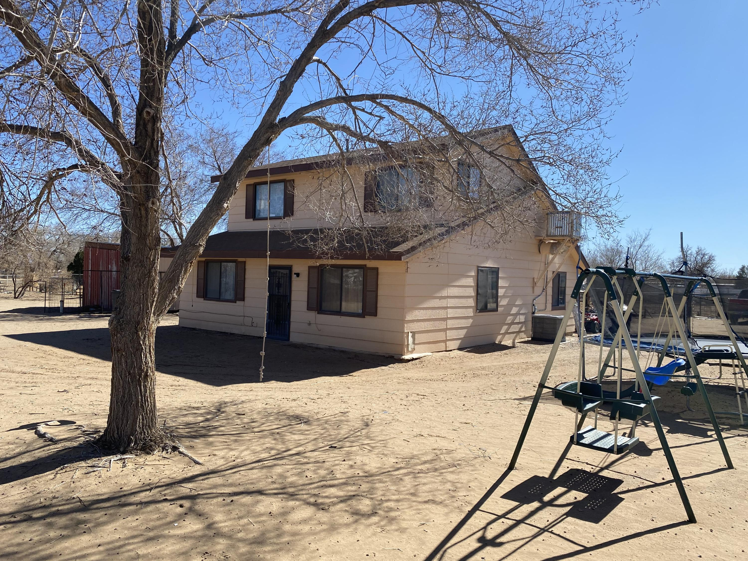 Hard to find Home. 1 Acre, bring your horses and enjoy country living. Gorgeous 3 br 2 bath. Well kept. Refrigerated AC.  Central forced air heat. Updated floors and paint in living area and master bedroom. Move-in ready.