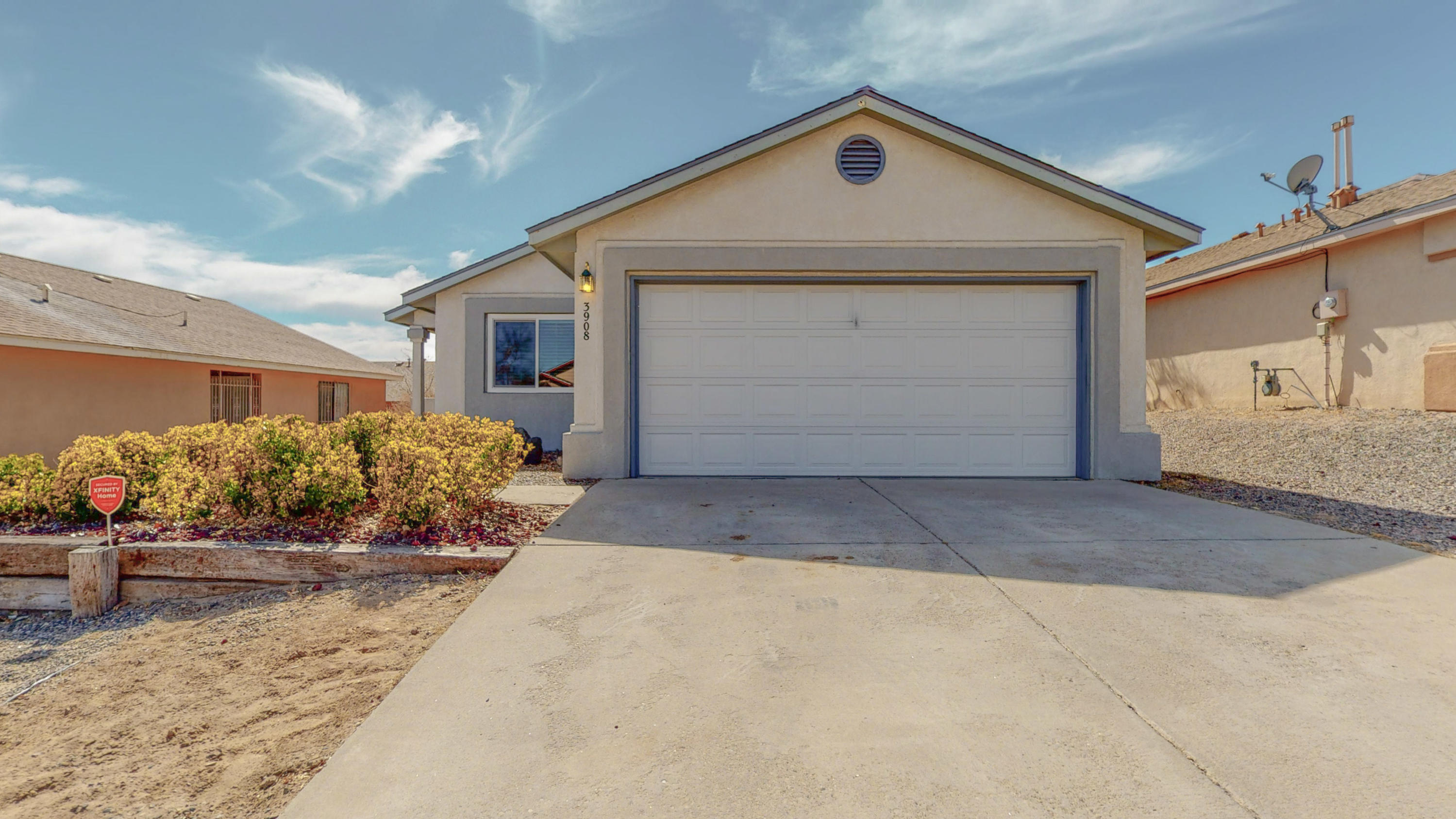 Location, location, location! Minutes away from the Cottonwood Mall, easy access to Paseo Del Norte, and close to grocery stores, dining and the theater. This home has been well taken care of. The windows were upgraded in July of 2018. The roof was redone in December of 2017.   Carpet was installed in November of 2020. This home has a large family room with plenty of space to entertain. The eat in kitchen has beautiful appliances that are about two years old. The covered patio is right off of the family room that provides a space for BBQ's or a place for a quiet evening with your favorite beverage. A large master suite with a walk in closet and a beautifully remodeled shower. Two more bedrooms with a second bath to complete this perfect home! The square feet will be verified by the 24th.