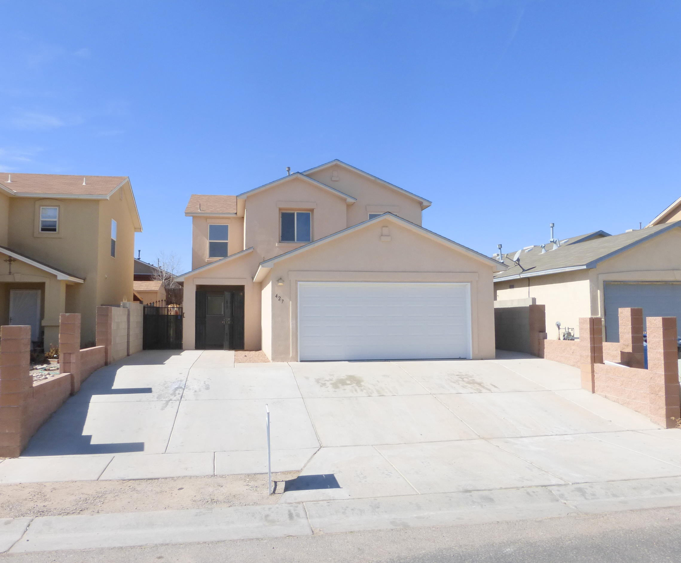 Come see this beautiful gem! This ideal home also has 3 bedrooms, an office & 2 living areas!  Many new updates done recently, including: kitchen cabinets, granite countertops, appliances, refrigerated air unit, furnace, flooring, interior paint, garage door, most interior doors, most electrical fixtures & more! The roof is about 2 years new! The backyard has a gardening area and a nice storage building! You'll love this sweet home!