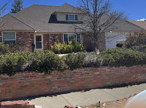 Good house with large yard and  2 garage space, four bedrooms. Backyard is large with lots of plants and trees. Located near comanche and juan tabo.