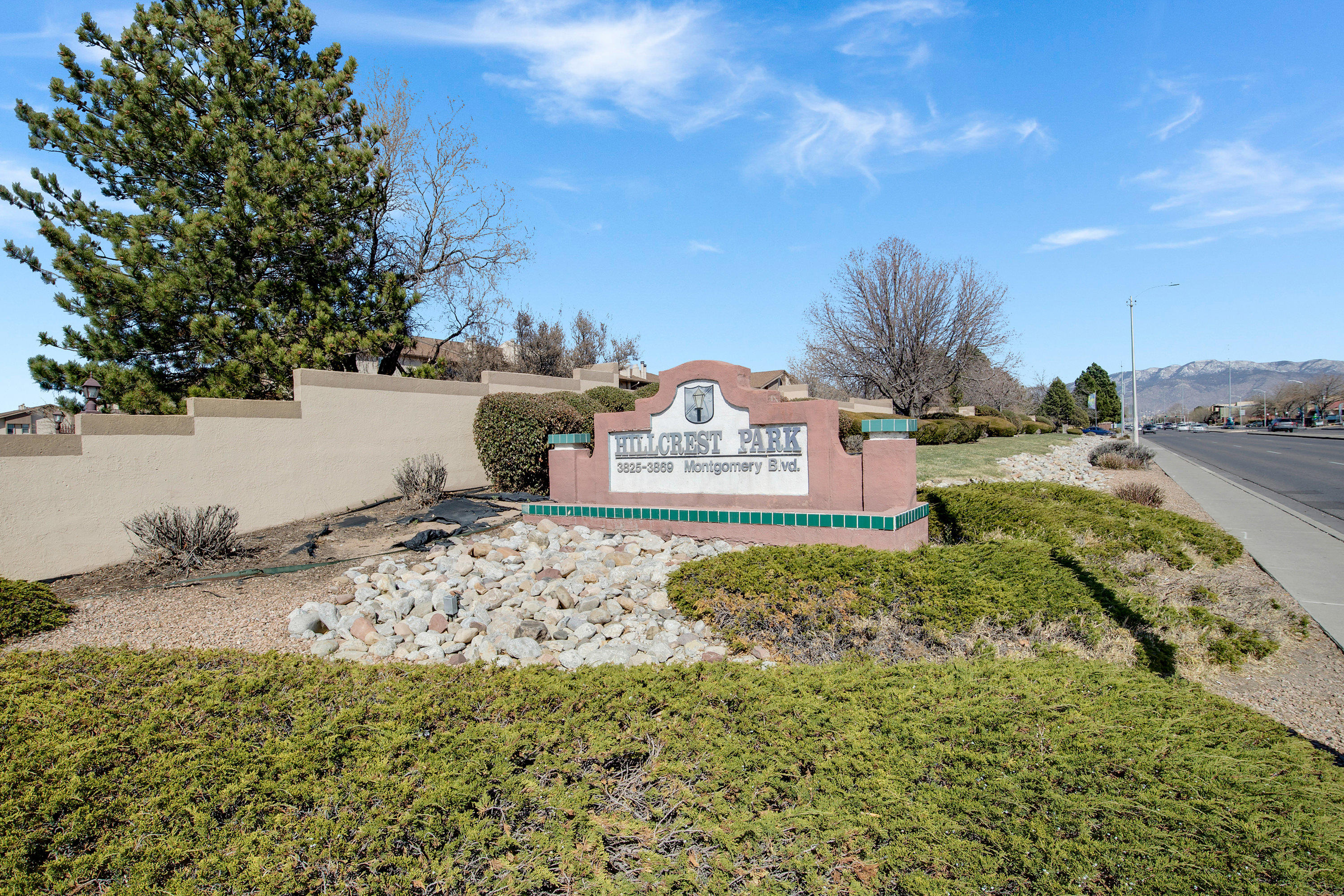 This is a beautiful condo located in a gated community just off Montgomery and I-25. Has brand new carpet and vinyl flooring! Also has PRIVATE washer, dryer and a patio! Community amenities include: security gate, clubhouse, pool, hot tub, sauna, exercise room, laundry facility and park area. HOA covers, gas, water, and exterior maintenance of residence. Don't wait! This condo is going to go fast!