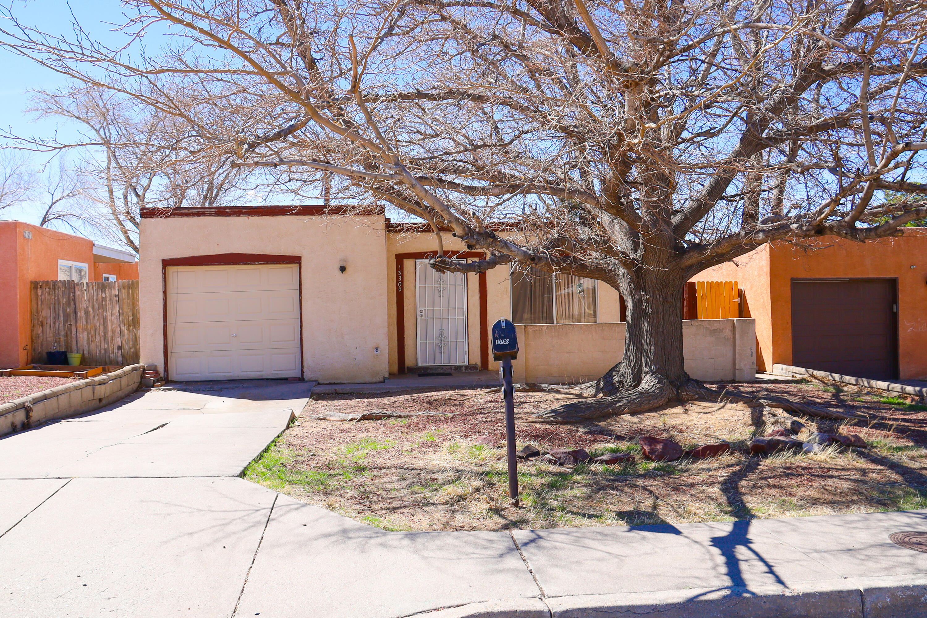 Diamond in the rough being sold in ''as is'' condition.  Open floor plan located in a mature neighborhood.  Easy access to I-40.  Private backyard.
