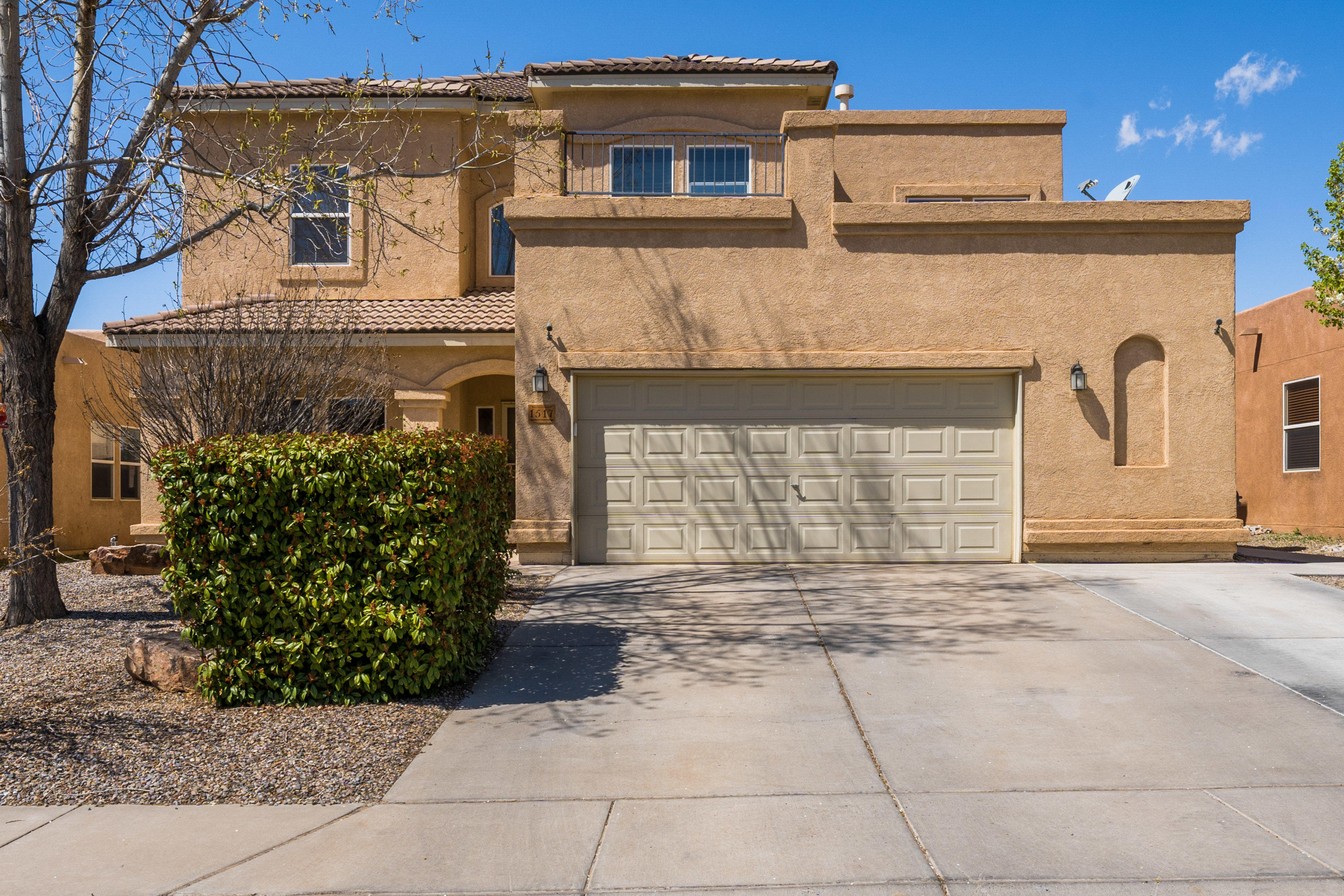 You do not want to miss out on this home in the beautiful Cabezon neighborhood. This beuatiful, well- maintained home has two living areas, possible 5th bedroom, formal dining room, large pantry, over-sized two car garage, and back yard with covered patio. Large kitchen with open-concept. Upstairs is spacious, with huge master suite with big bathroom, with two vanity areas, and walk- in closet. Home is located by parks and several eating establishments. You do not want to miss out on this home.