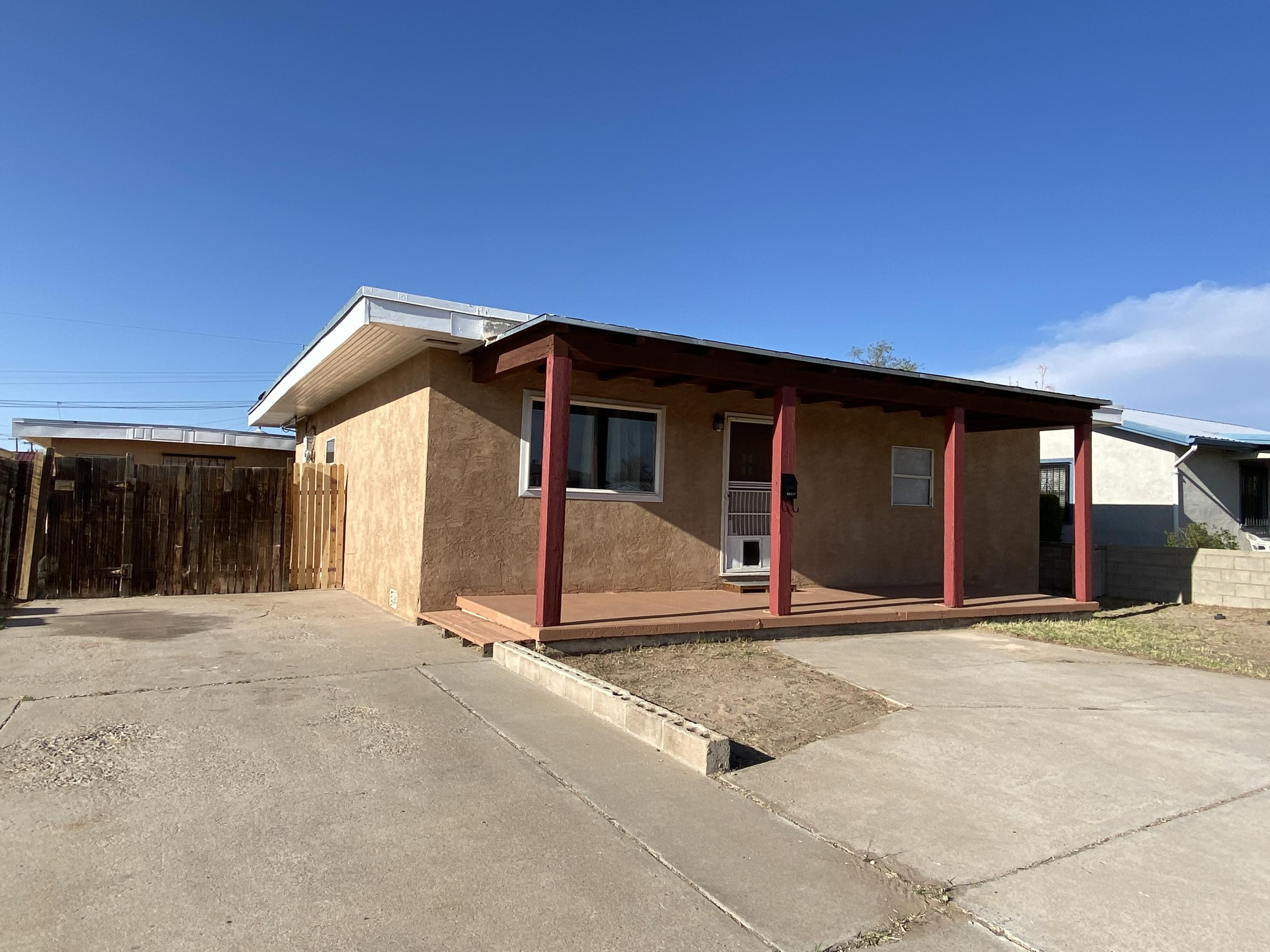 A Home with a Casita on a .21 acre lot! This is a great starter home or an investment property! The main home has 1129 square feet with two bedrooms 1 full bath and a 3/4 bath. The Casita/Guest House/In-Law Quarter has 574 sqft, with 1 bedroom and 1 full bath. All appliances will convey in ''AS-IS'' Condition and the Home is being sold in 'AS-IS'' Condition.