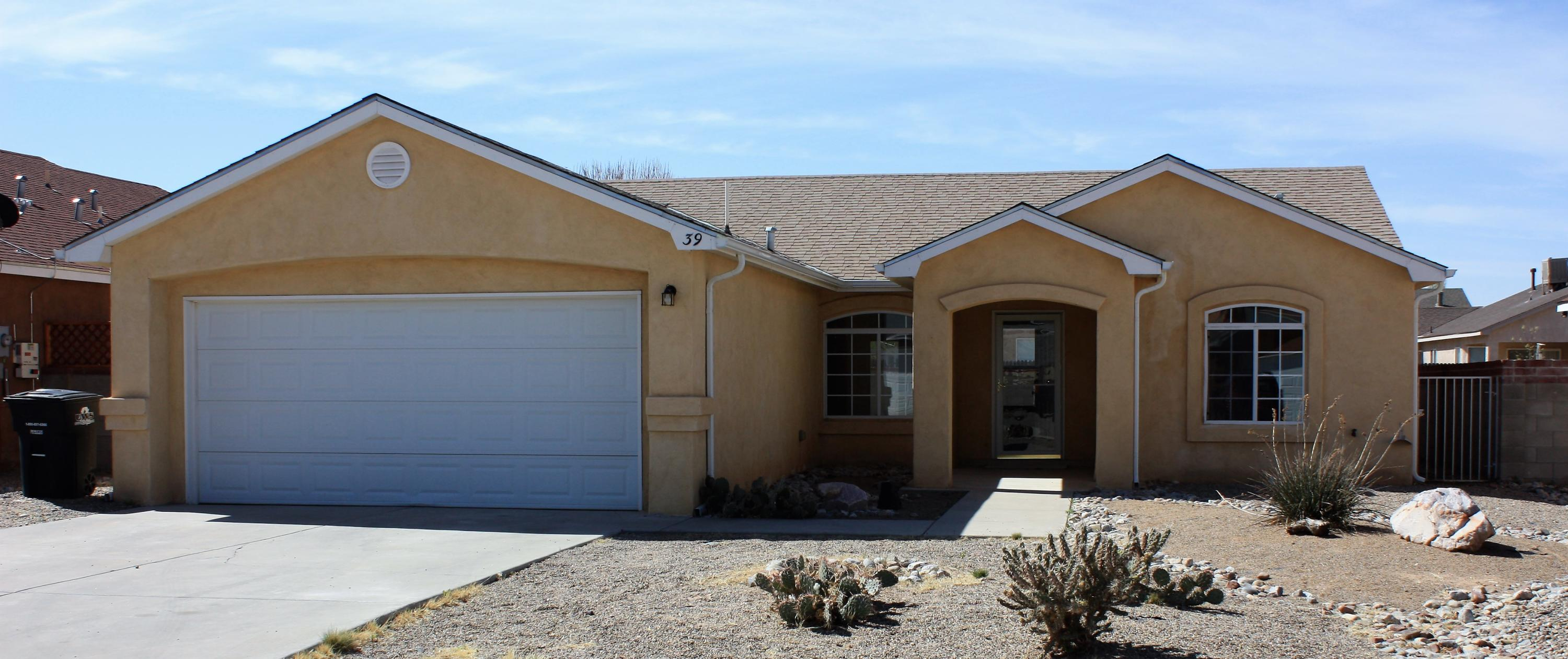 Awesome 3 bedroom, 2 bathroom home with new carpet and stainless appliances.  This functional floorplan has room for the entire family.  The raised ceilings open the entire floor plan.  The refrigerated air will keep you cool on those hot summer nights.  Come take a look at before it's gone.