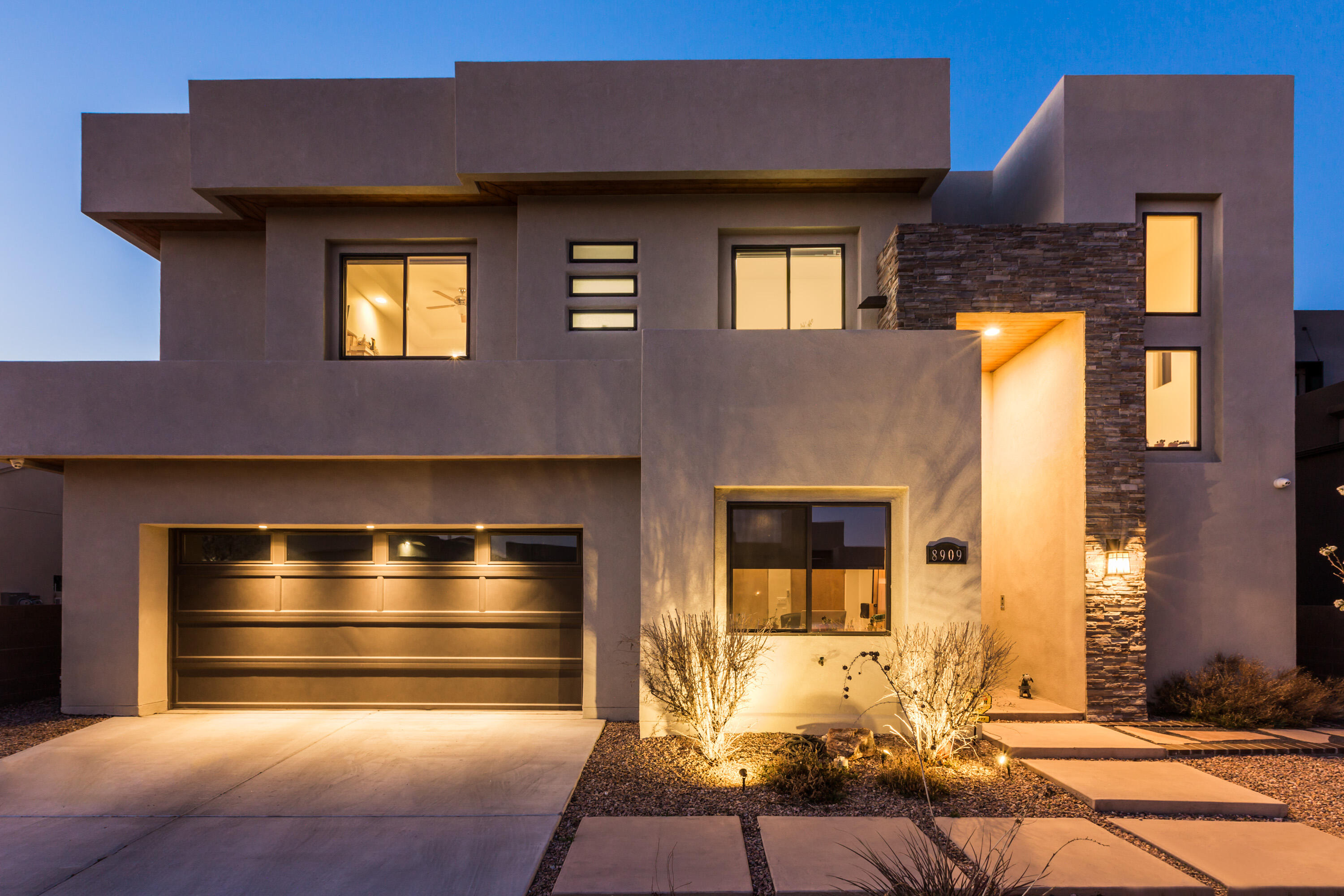 Contemporary Custom Built with all of the upgrades. Pool, SubZero, Amazing Views backing to Open Space. Two outdoor living areas, collapsable doors, open the family room to the outdoor space.Subzero/Wolf Appliance package, wet bar. This home is a must see.