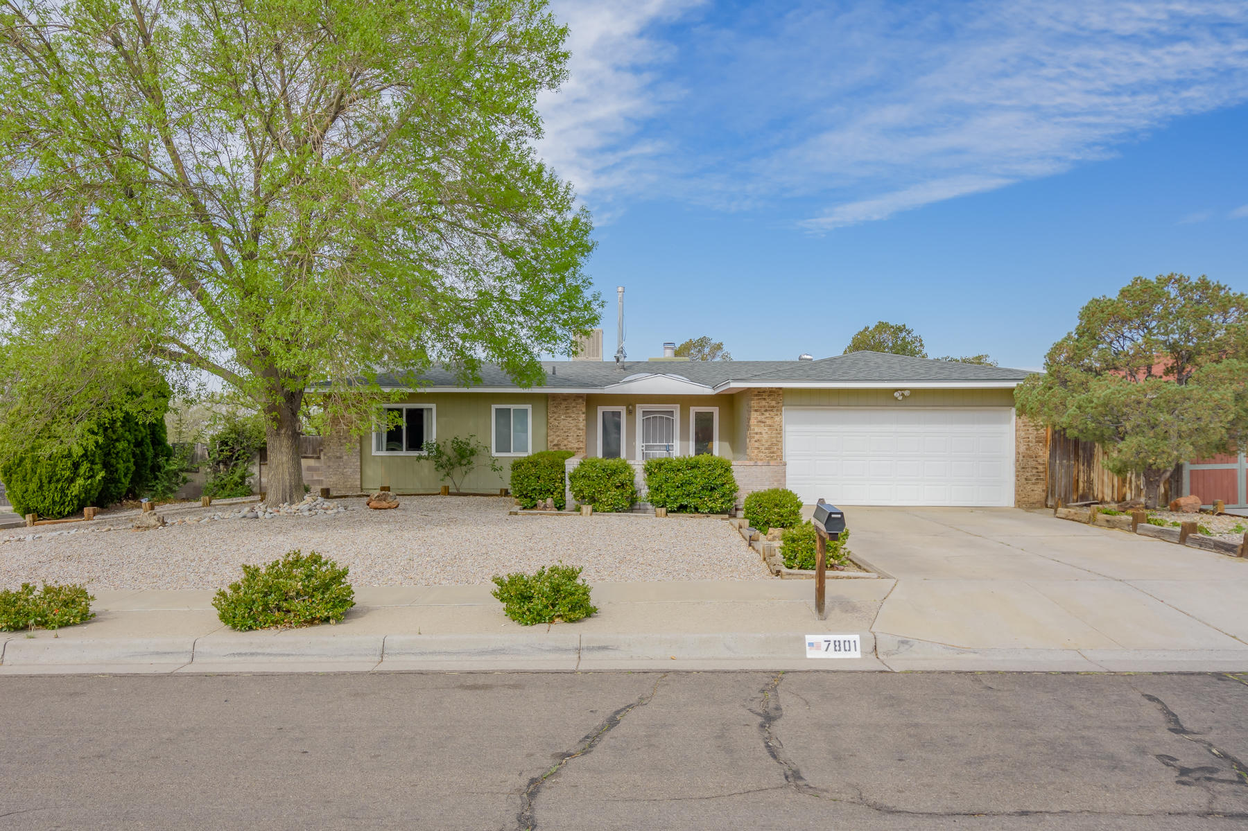 OPEN HOUSE SATURDAY 4/17 FROM 1-2:30PM. Lovely, light-filled single story home in La Cueva HS district.  Many updates!  Kitchen is bright and open to family room.  Stainless steel appliances with gas range.  New microwave and dishwasher.  Huge pantry too!  Plenty of room for dining.   Spacious Family room with fireplace, and doors to the outside patio.  The backyard is large for all the outside toys and access is possible.  3 bedrooms are down the hall. The master has it's own 3/4 bath and large closet.  2 more bedrooms with good-size closets.  Full bath and.. a separate laundry room near the bedrooms, actually near the laundry!  Tile and wood floors, no carpet! Front yard is easy maintenance, and enjoy the views from the courtyard.