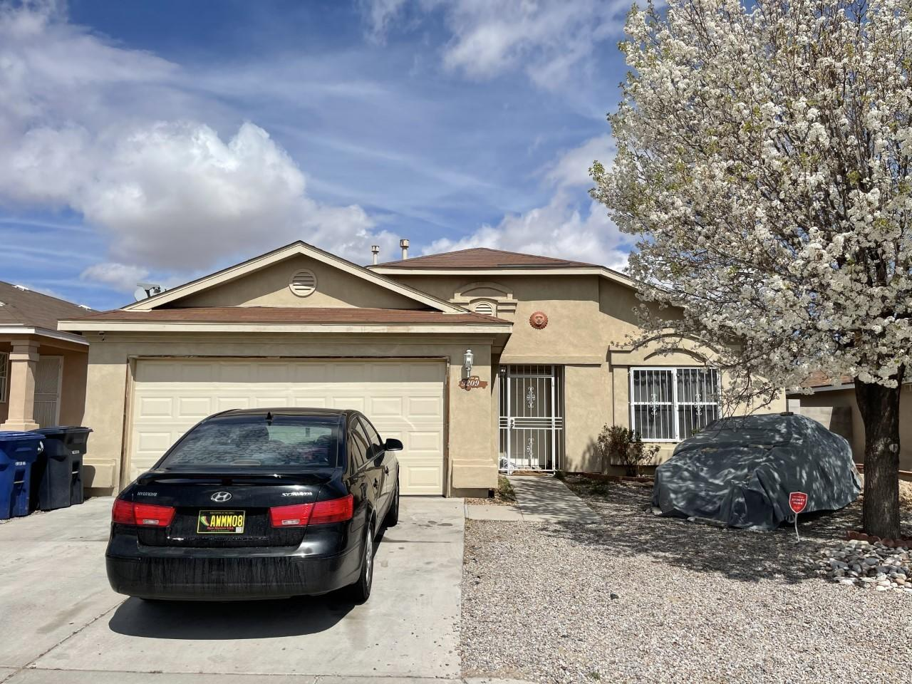 Great home with new roof, stucco will be replaced in whole house, lots of tile, open floor plan. Right across from the park, home is rented.