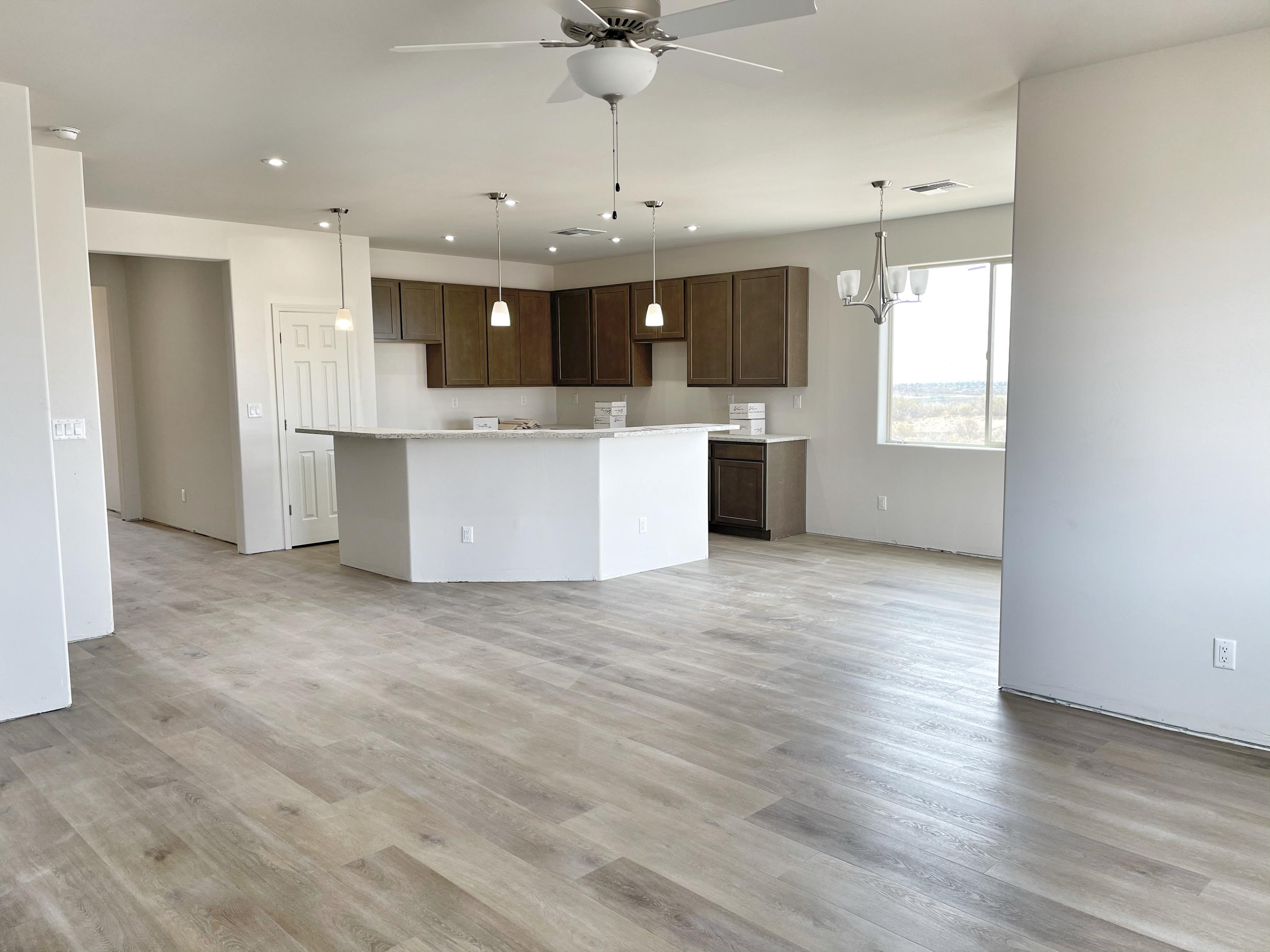 Come take a look at this beautiful new construction home. Stunning finishes at every turn in this open concept floorplan. Granite Countertops, Soft-close wood tone Shaker Cabinets, Stainless Steel appliances, Refrigerated Air, 9' ceilings, 8' front and back doors, Hand trowel drywall finish, extra Large Laundry/utility room, Recirculating Hot Water, Rough in for Water Softener, High Efficiency 96% Furnace and Extra storage leading to the Insulated Garage with Insulated Door.  Spacious master bedroom & bathroom with double vanity are separate from guest rooms.  All of this on a half acre lot.  Home is scheduled to be completed mid May.  Contact your lender and realtor today! Photos show construction progress but updated photos coming soon!