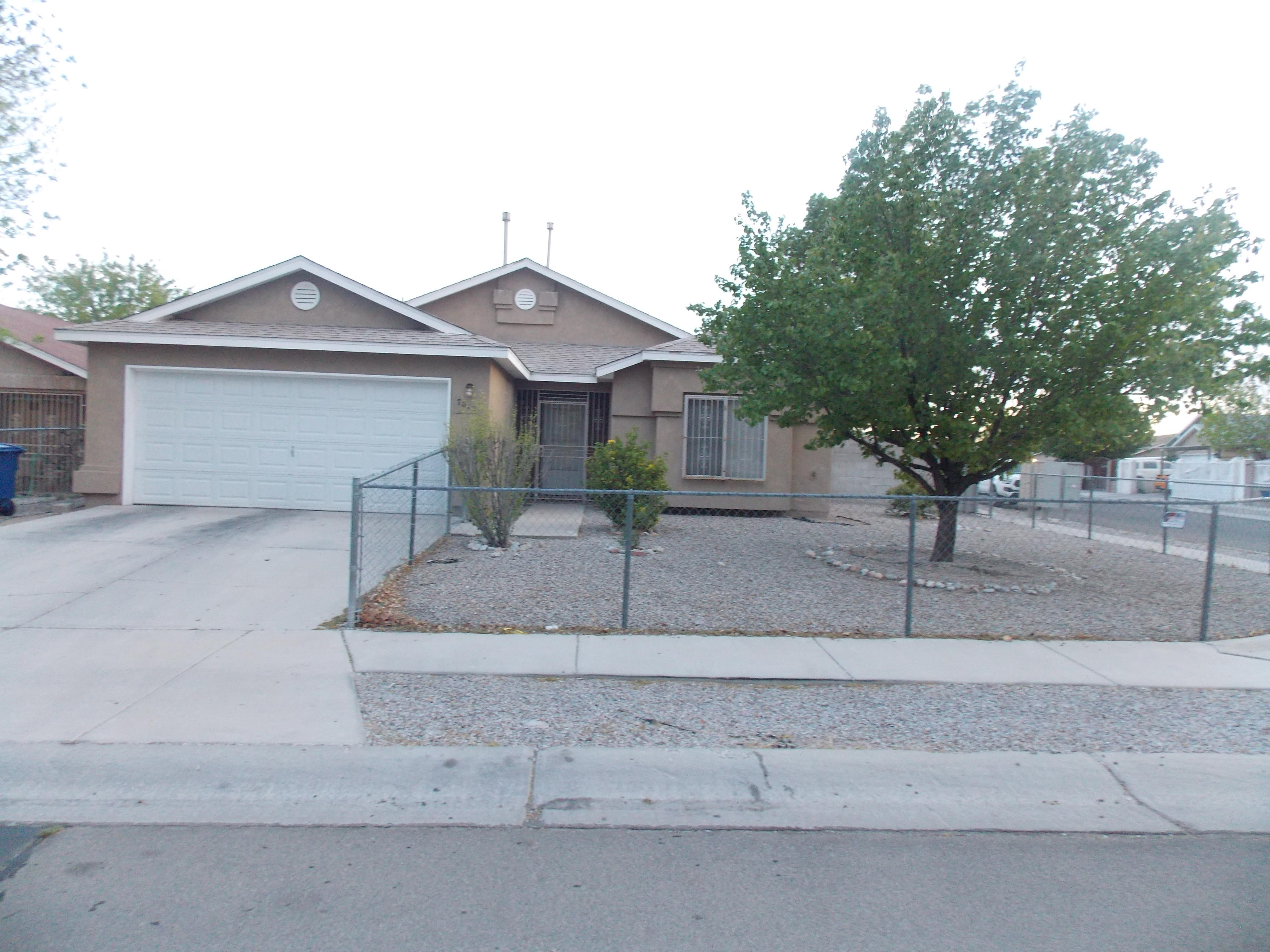 We have a nice corner lot home, with backyard access, 4 bedrooms, 2 baths, move in ready.We have a newer roof about 2 years and refrigerated air about 3 years. the rest of the home has been well taken care of.