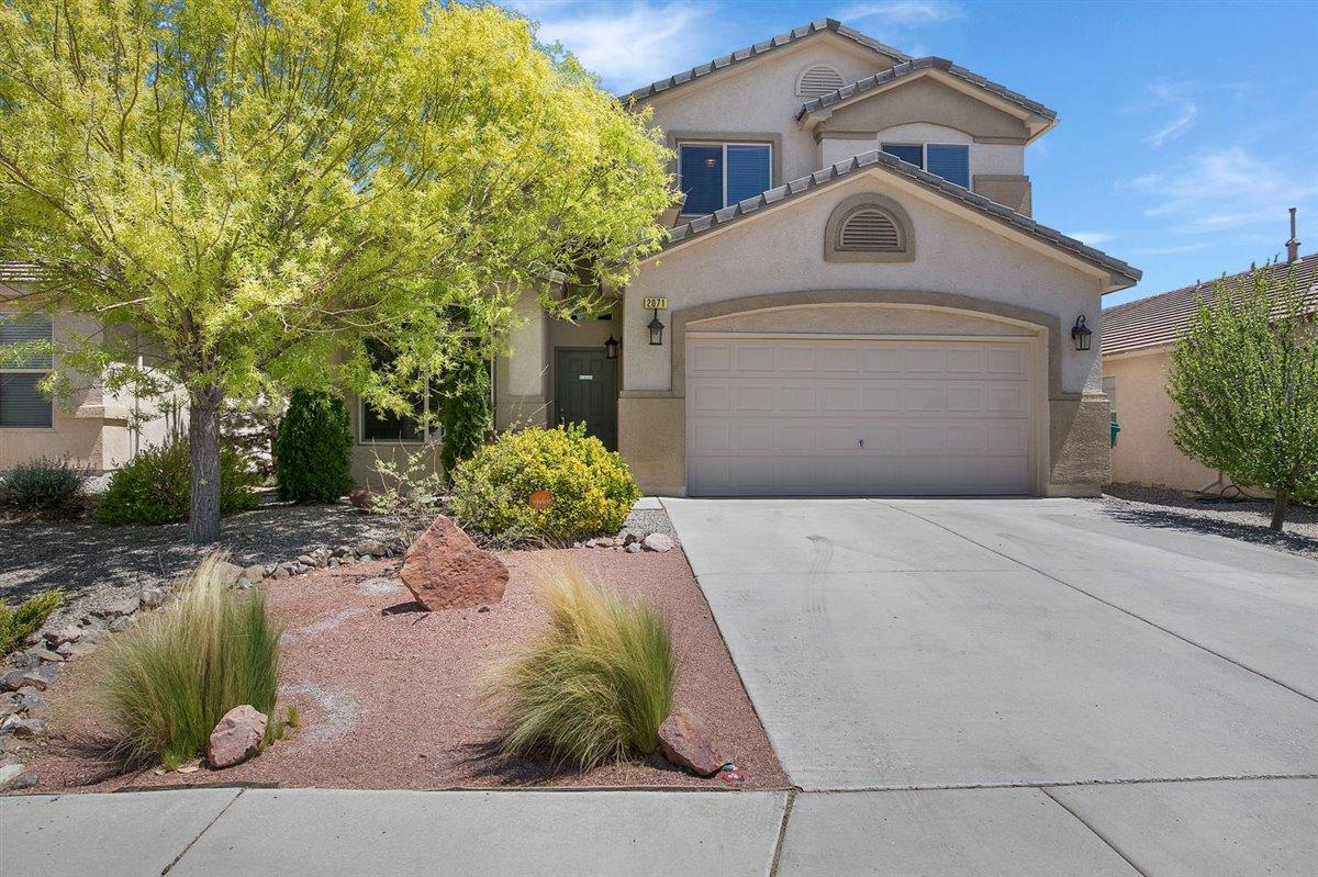 You won't have to lift a finger to move into this home! With tasteful upgrades to the landscaping, the flooring, and the kitchen, you'll be able to immediately enjoy the perks of living in Cabezon.The kitchen's fresh upgrades include quartz countertops, a butcherblock countertop peninsula and island, stainless steel appliances, and new cabinetry. Throughout the first floor, you'll find stunning Luxury Vinyl Plank flooring, and upstairs in your well-appointed owner's suite, you'll love stepping out of the shower onto your heated tile flooring! Your backyard oasis includes fully completed xeriscaping, a brick paver patio, and a full irrigation system. This home also has many Smart features, with a wi-fi-enabled alarm system, door locks, the thermostat, and even the kitchen oven!