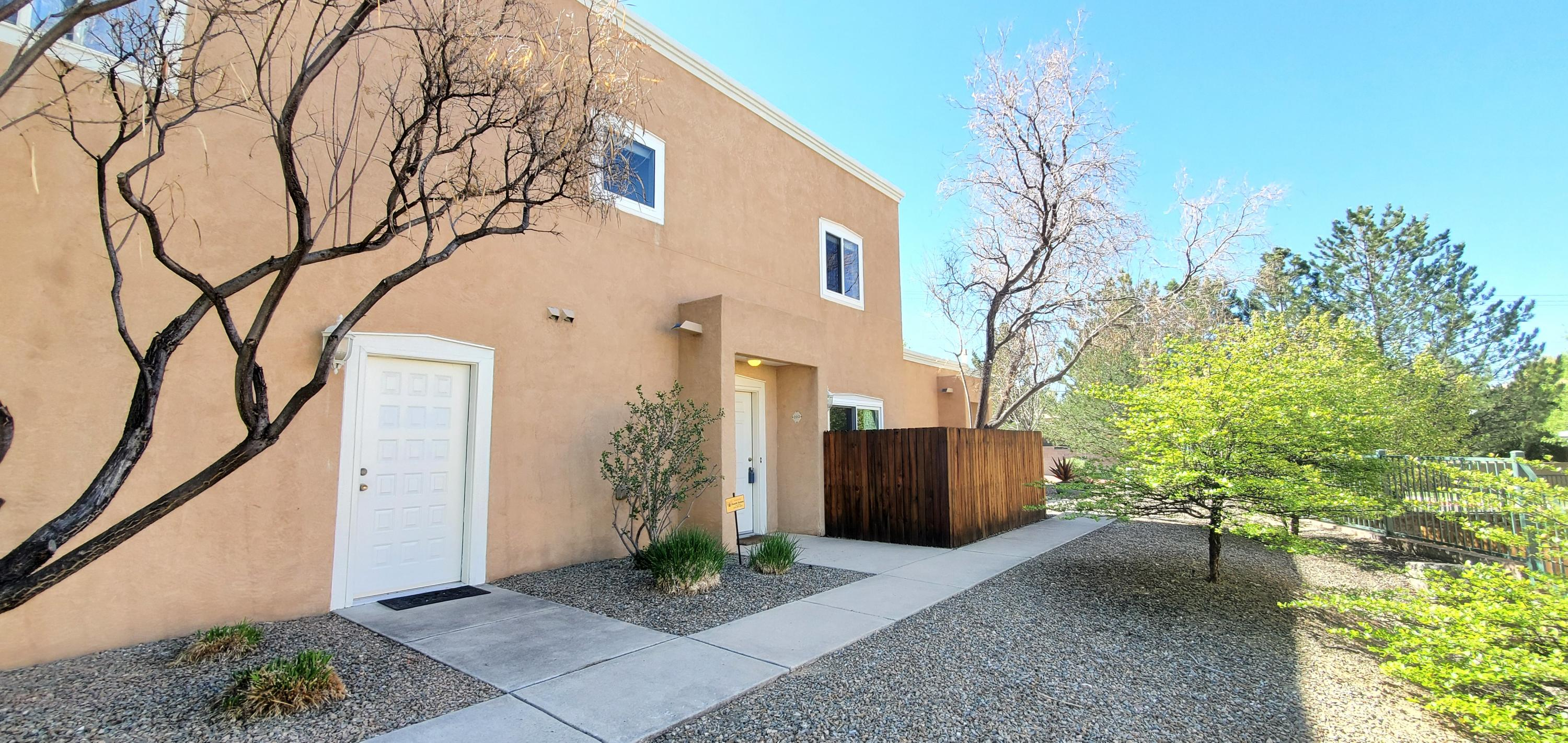 This is a great condo in the gated Oso Park neighborhood. It has a nice open concept with 2 bedrooms and 2 bathrooms. The Kitchen has been Completely Updated with custom cabinets, granite countertops, s/s appliances including a wine refrigerator. ($40K) All the windows have been replaced ($10K).  Units is very quite and shows as new with plenty of upgrades and care. Refrigerated Air($20K), Tile Floors, and the living room has surround with inwall speakers ($10K) and is open with a sliding patio door to an outdoor patio. Master Bathroom is remodeled as well with Jetted tub and full enclosure.(part of the $40k). You won't be dissappointed in this unit.