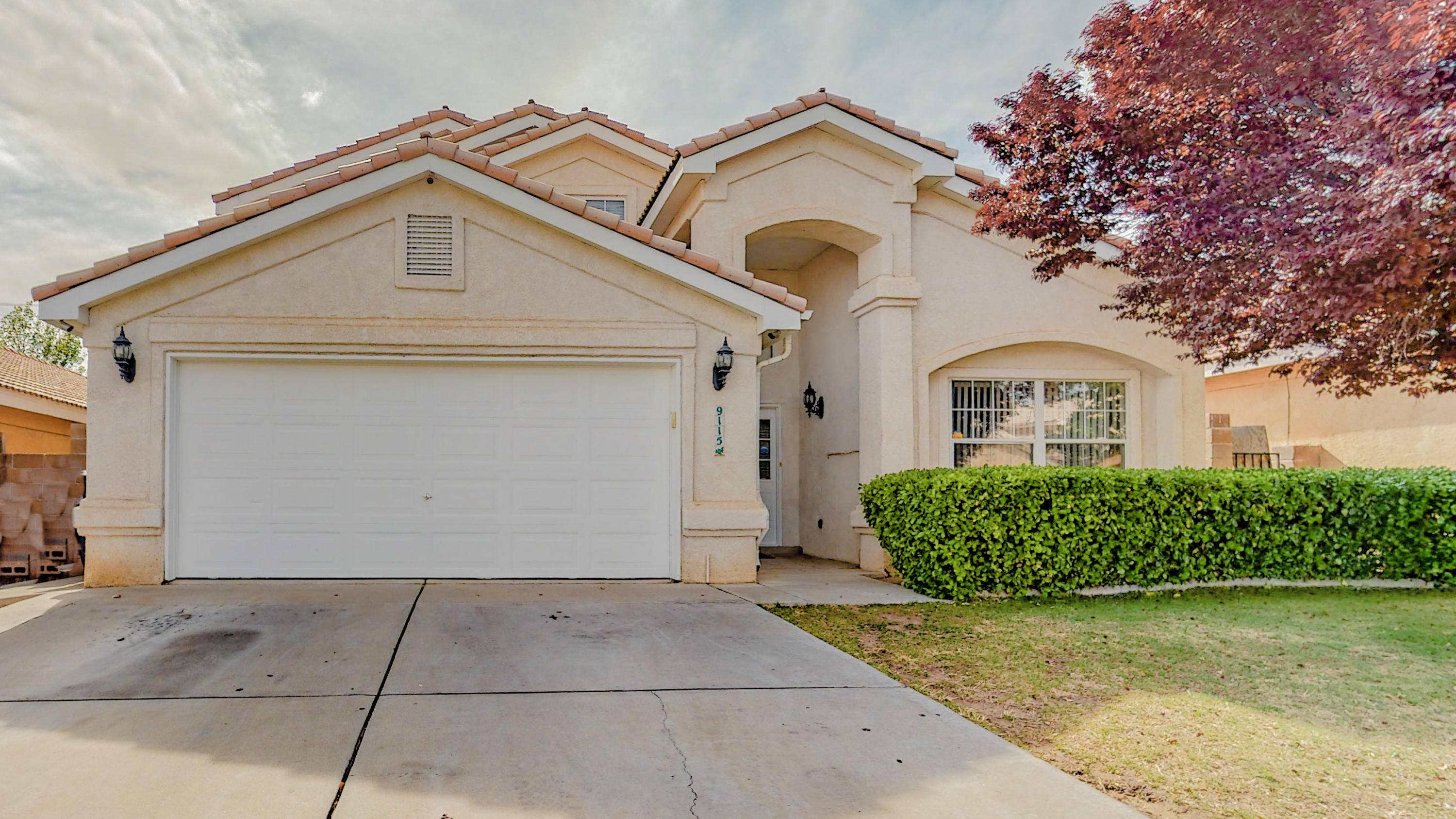Beautiful 4 bedroom home in highly sought after neighborhood now available!  Home features open floor plan, high ceilings with large living room, master bedroom downstairs, tile roof, REFRIGERATED AIR! No HOA!