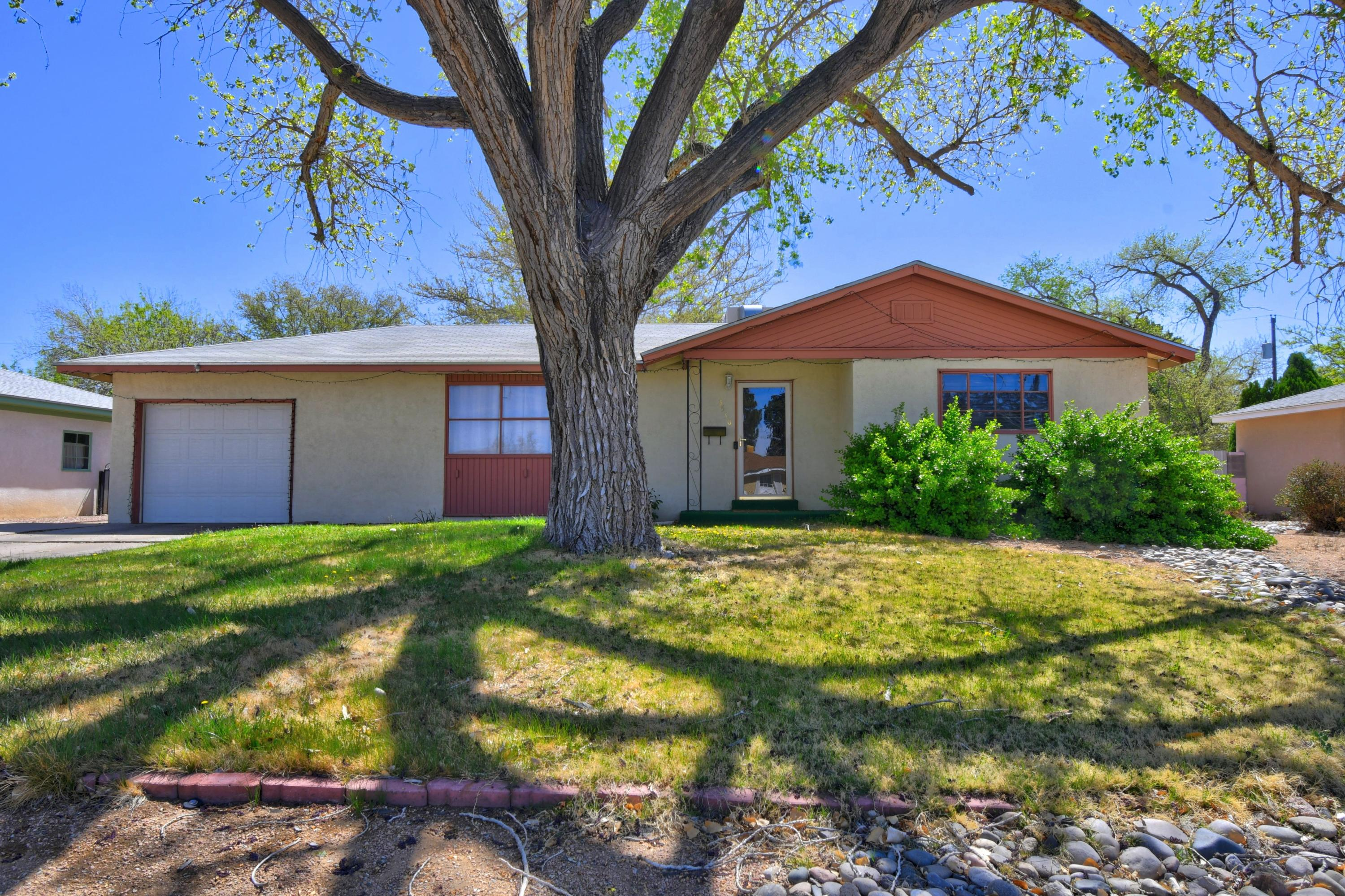 This beautiful cozy home sits on 0.29 Acre lot with big back yard. It is conveniently located near parks, restaurants, shopping, and entertainment. No carpet. Water heater replaced 2020. Evaporative cooler replaced 2020. There is a den area which can be used as another Living Room/Family Room or your home office with backyard view. Granite counter top upgrade in 2019.