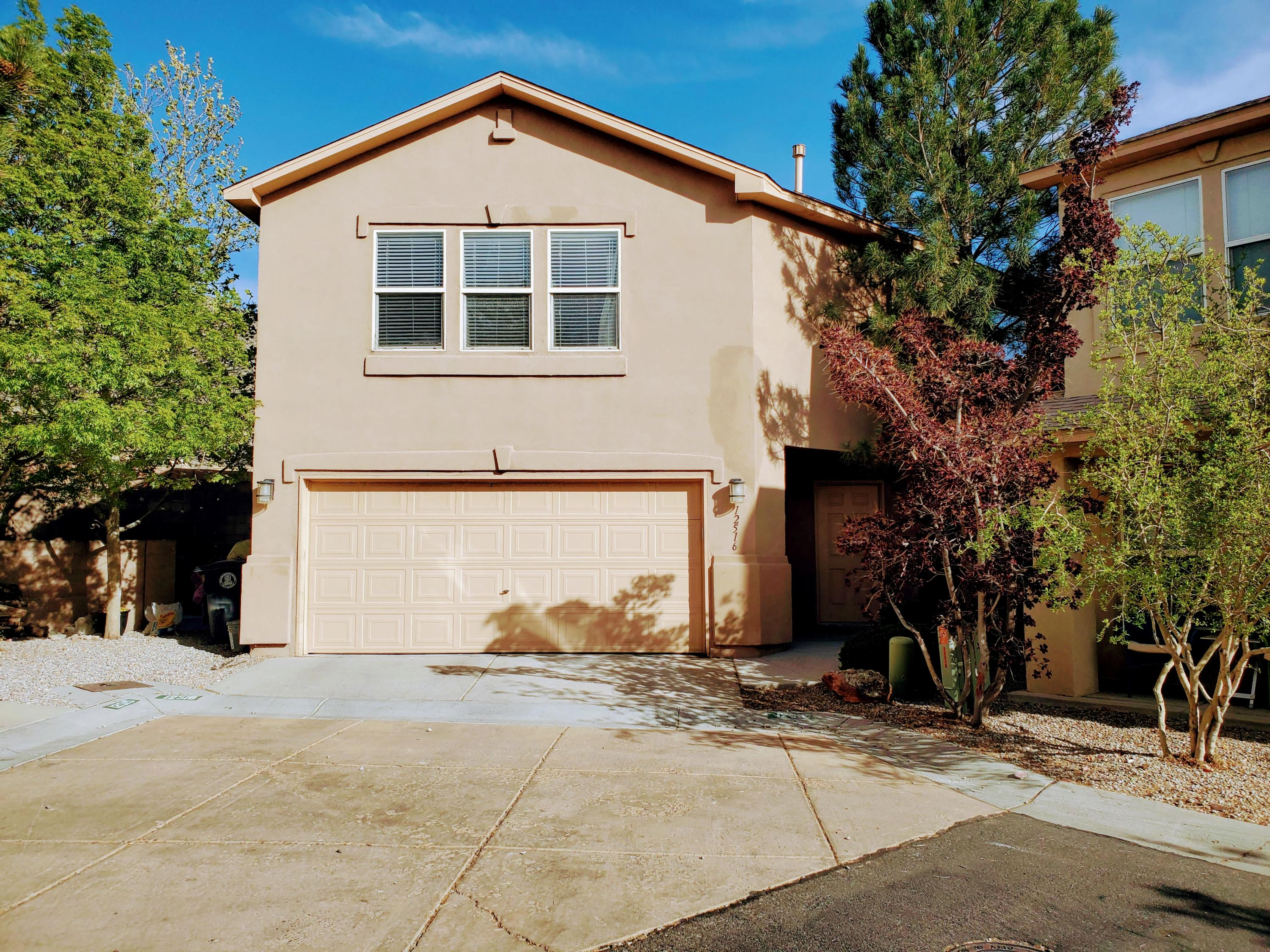 This cute, move-in ready home is located at the end of a cul-de-sac in the Foothills Tramway Highpoint area in a quiet neighborhood, with excellent public schools and is just minutes away from restaurants, shopping, breweries, and the foothill hiking trails. The backyard was recently upgraded with entertaining in mind. The spacious master bedroom features two walk-in closets and an upgraded walk-in shower. Main floor has an open plan including a kitchen and dining area, and a bright, comfortable living room. Top that off with a laundry room, with lots of storage, and a half bath, and you have the perfect setup. Upstairs there's a spacious loft, the master bedroom and bath, two more good sized bedroom and a full bathroom. Last, but not least, the home sports an attached two car garage