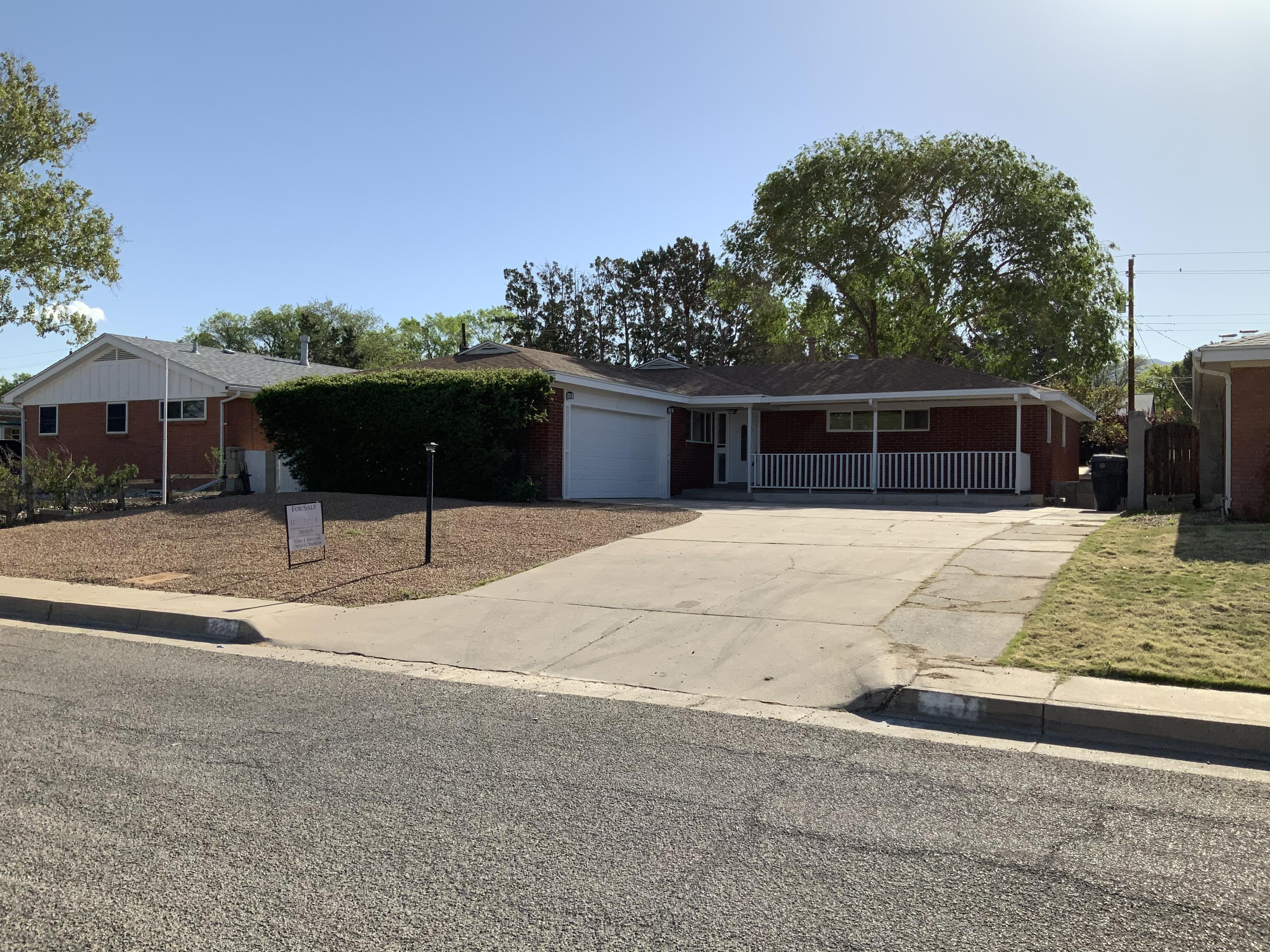Another amazing remodel by Rio Grande! EVERYTHING in this home has been freshly updated and it is ready to move into today!!!  Mid-century modern, with contemporary colors and style throughout. New Roof 2018, Vinyl Windows, Furnace 2019, NEW A/C, Paint, Stainless Appliance Package.  Shaker cabinets w/metal pulls.  BEAUTIFUL WOOD FLOORS!  New Electrical & Plumbing Fixtures, Hardware & Ceiling Fans. Finished Basement w/ huge 2nd Living area.  Additional large space could be 5th bedroom or rec. room.   Nothing left to do here but move in! Come see this new one today, it will not last long.