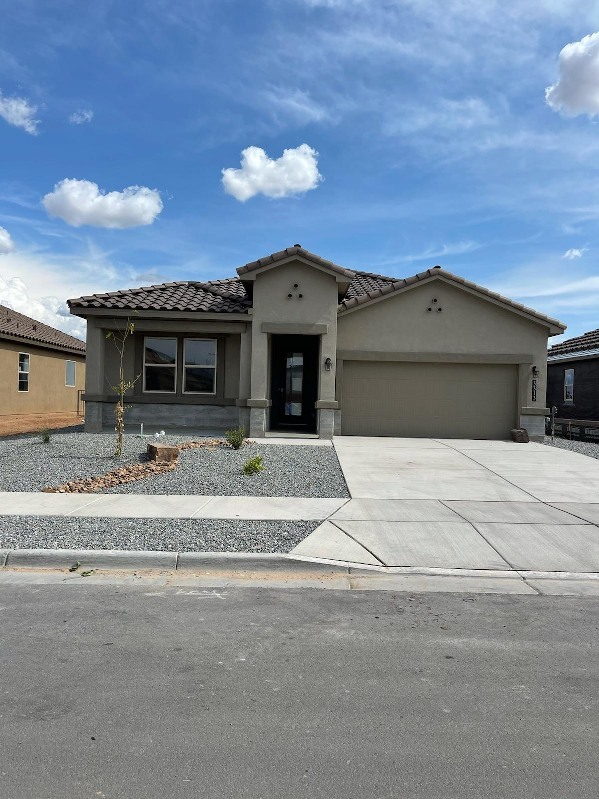 This is a beautiful 4 bed 2 bath home.Open living room with fireplace and gourmet kitchen with granite countertops! Ceramic tile throughout, carpet in bedrooms. Large primary suite with dual sinks in primary bath and huge walk in closet. HOME IS UNDER CONSTRUCTION EST. TIME OF COMPLETION AUGUST 2021.