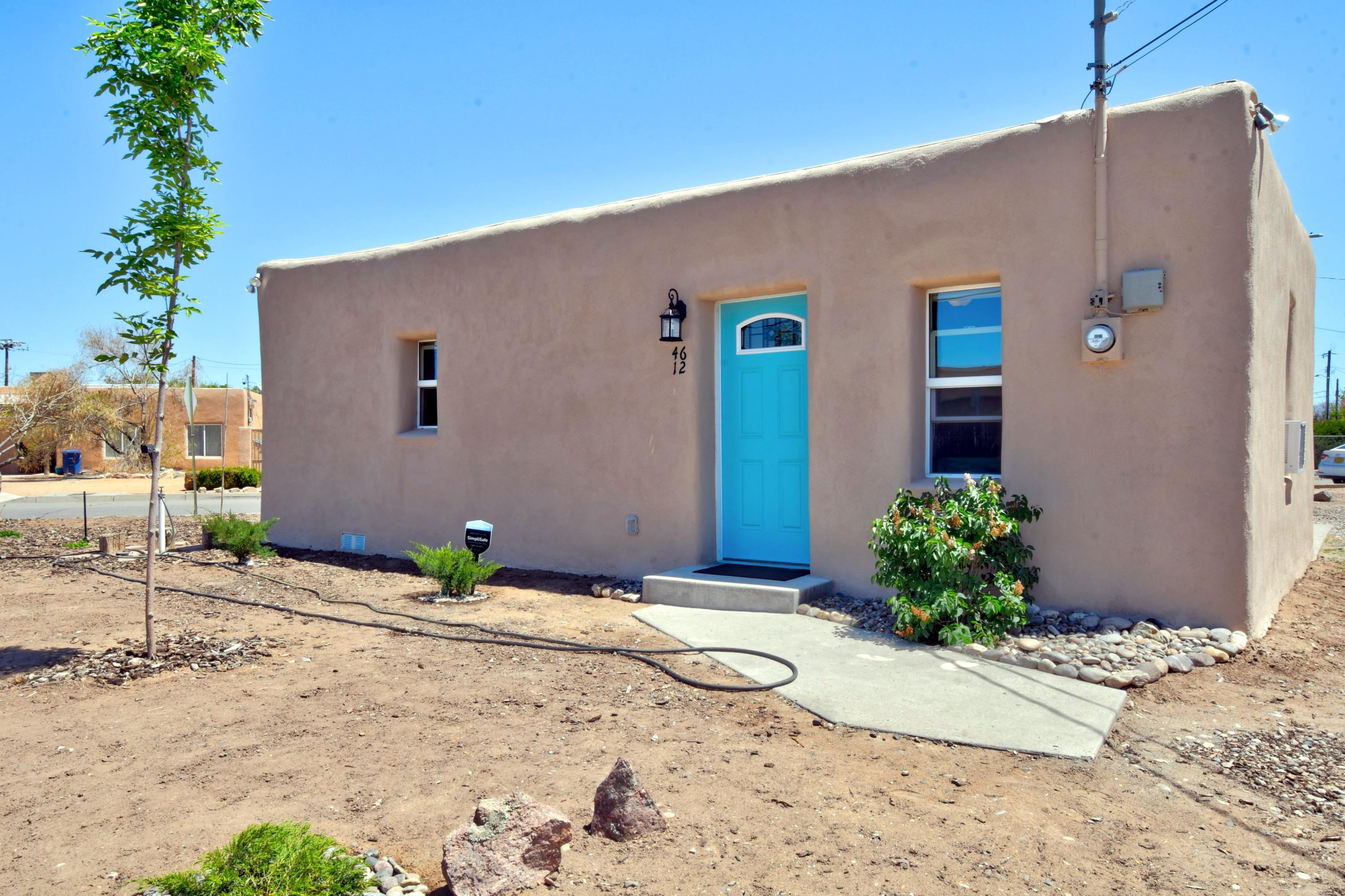 North Valley Gem!  This cute Old Adobe has everything you need! Since May of 2019 this home has been updated to make IT shine!  Updates include Footings, Floor joists, Sub-flooring, Vinyl Plank Flooring, Windows,  Stackable Washer/Gas Dryer, Hot Water Heater, Evaporative Cooler plus Two 12,000 BTU Window A/C units, 30,000 BTU Freestanding Gas Radiant Heater, Bathroom Vanity, Toilet, Tile Shower, Kitchen Cabinets, Countertops, Stainless Steel, Gas Stove, Microwave, Quiet Dishwasher, Refrigerator. Garbage Disposal, Light Fixtures, Exterior Metal Doors, Main Water Line, Landscape Plants, Circular Driveway and Storage Shed! This property sits perfectly on the lot to allow for enough room for an addition with proposed plans, or Agricultural use. The property is Zoned R-A.