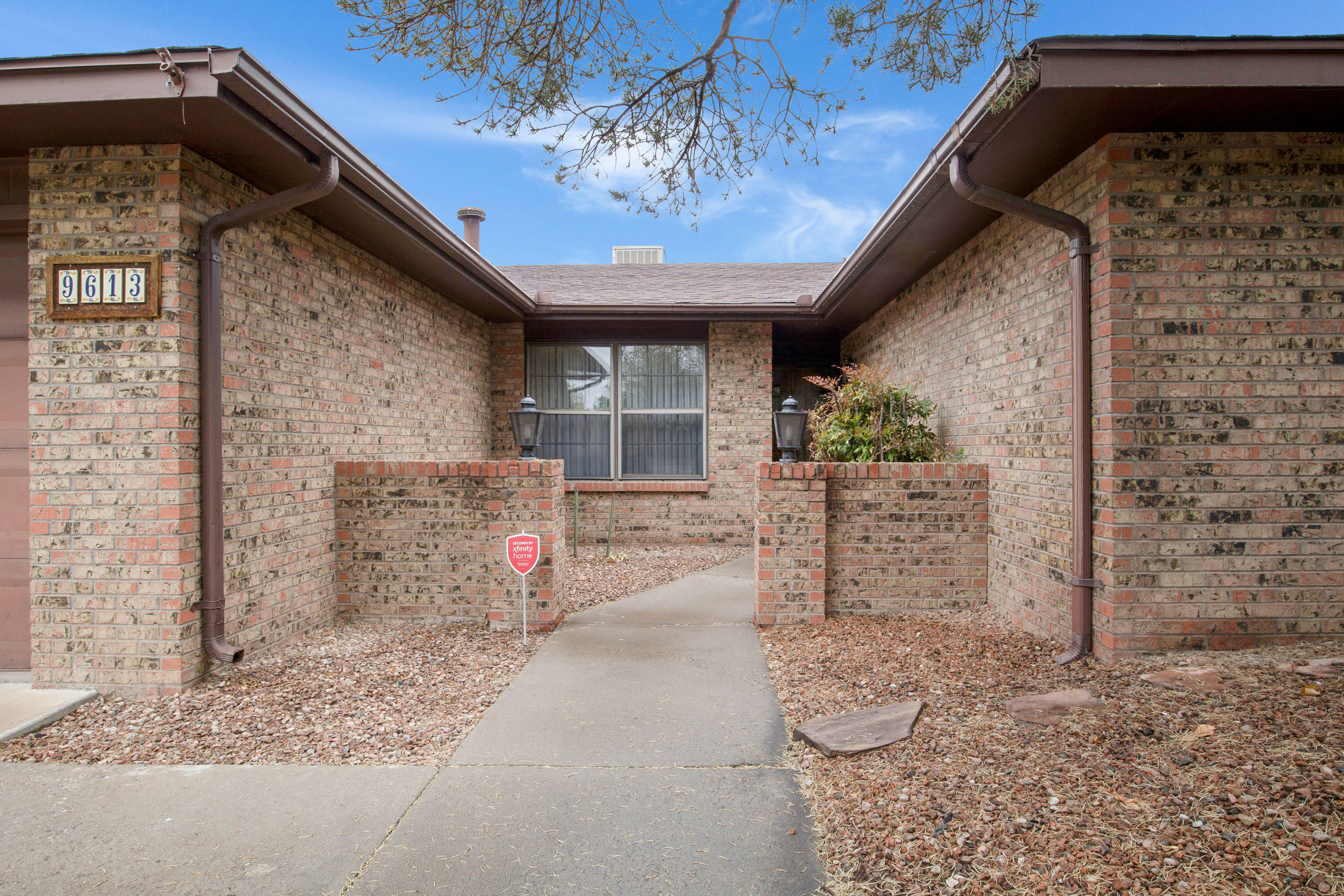 Seller has permission to show and accept back up offers. Well-maintained home in a great neighborhood in the northeast heights on a quiet street in the La Cueva school district. 3 bed, 2 bath , gas stove, open floor plan, covered patio and deck, landscaping front and back, privacy walls in back. Formal dining room and breakfast area, with laundry room off kitchen. Refrigerator, washer and dryer included. Priced to sell fast and make it your own!