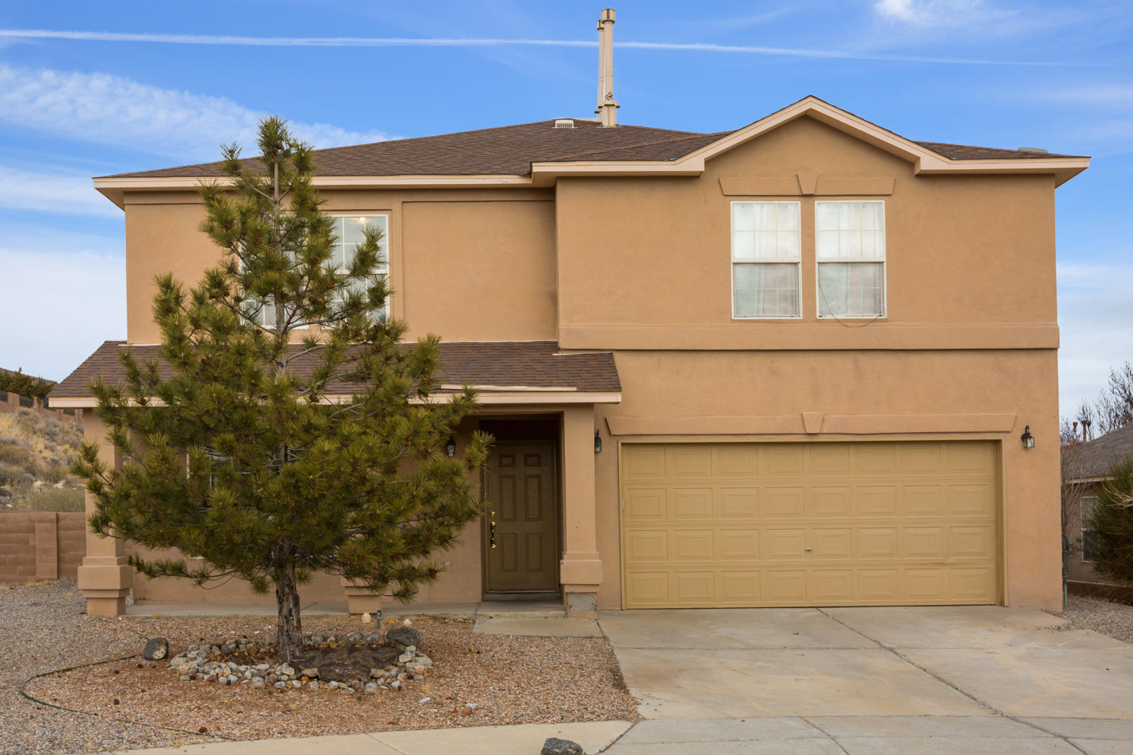 Need room? This home is for you! Humongous living room plus open kitchen/dining family room. Spacious master bedroom with master bath and walk in closets that have plenty of room for all your belongings. 16x9 Loft can be used for your personal purpose is . First story has ceramic tile, real wood floors on stairs and second level nor carpet. First 3 photos are virtually staged.