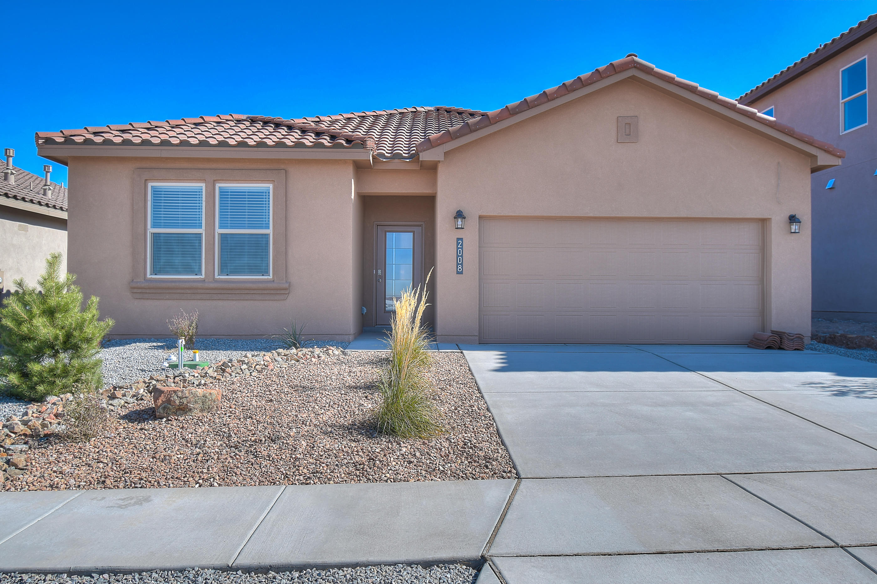 One of the LAST opportunities to own a NEW home here in Volterra!  This beautiful NEW HOME in the Volterra IV community in SE ABQ! This energy efficient home is CURRENTLY BEING BUILT. Our incredible 1-story Jordyn model offers a bright and open kitchen / living area. Besides plenty of standard features like granite kitchen countertop and tile flooring, the STAIN-STEEL KITCHEN, FRAMELESS HEAVY GLASS WALK IN SHOWER AND PREMIUM INTERIOR PACKAGE were expertly planned by our designer! Primary bedroom is secluded from the remaining three bedrooms for maximum privacy.  Call today to set up a showing of our beautiful model homes or to learn more about our Volterra IV community!