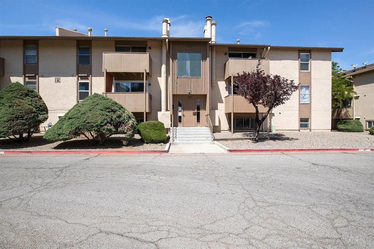 It can't get more centrally located than this! This beautiful condo is located near the freeway, Costco, Home Depot, movies, and Top Golf. Also has private washer, dryer and deck with a great mountain view! Community amenities include: security gate, clubhouse, pool, hot tub, sauna, exercise room, and park area. Flooring has been redone throughout the whole condo! Don't miss out