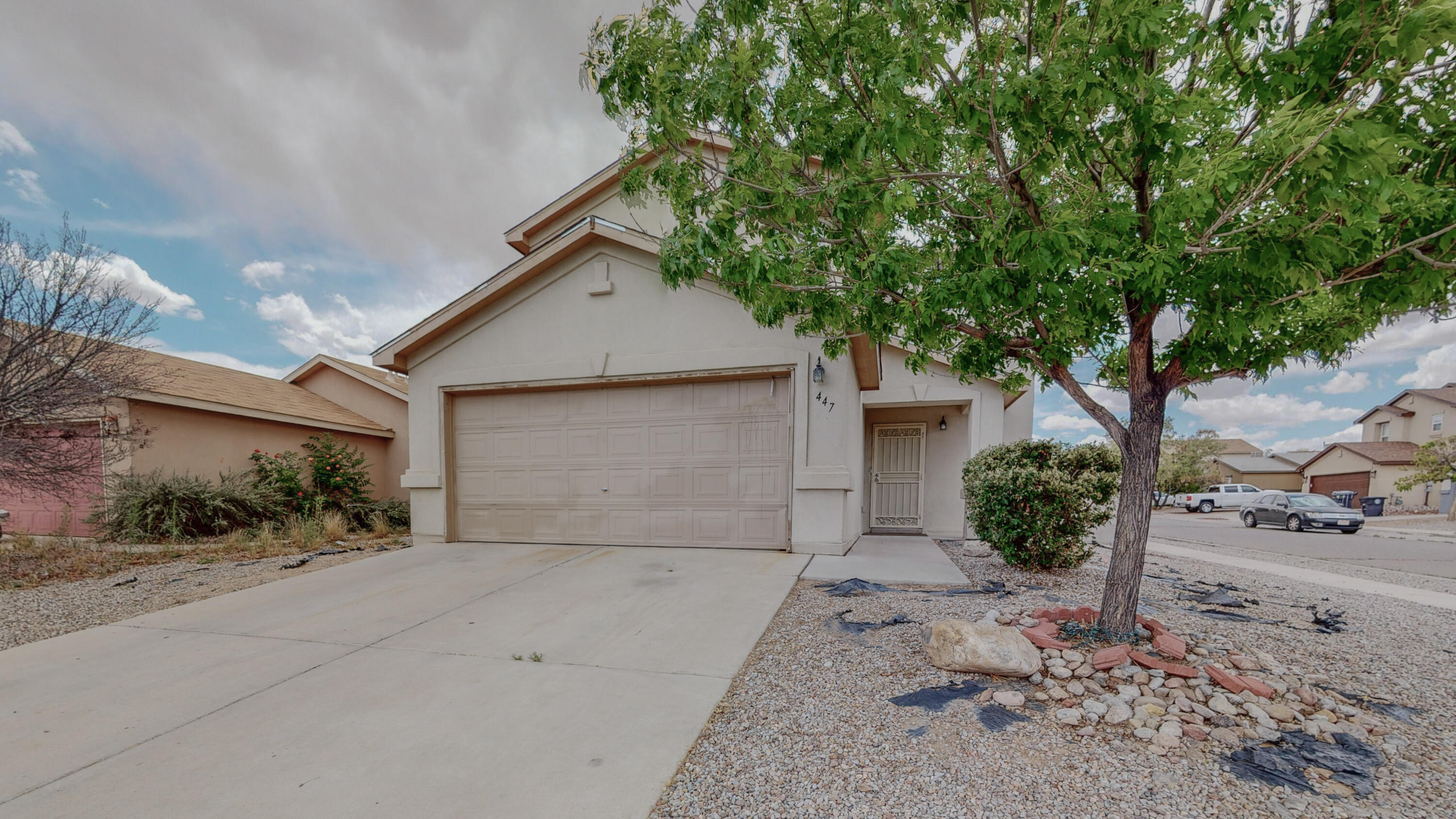 Great opportunity for a 3 BR 2.5 BA  2 CG home on a corner lot!  Nice, open floorplan with all bedrooms upstairs. New water heater being installed on 5/21/2021. Excellent backyard! Easy access to I-40