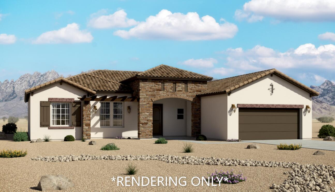 Estimated Completion Mid July. This Tuscan Elevation plan Features include: Stacked Stone Exterior accents, Gourmet Kitchen with Charcoal Colored cabinets, granite countertops and glass tile backsplash, Gas Fireplace, Large format floor tile, Skip trowel wall texture, Full walk in shower in Master bedroom, Large format tile surrounds at bathtub and shower. Covered Patio.