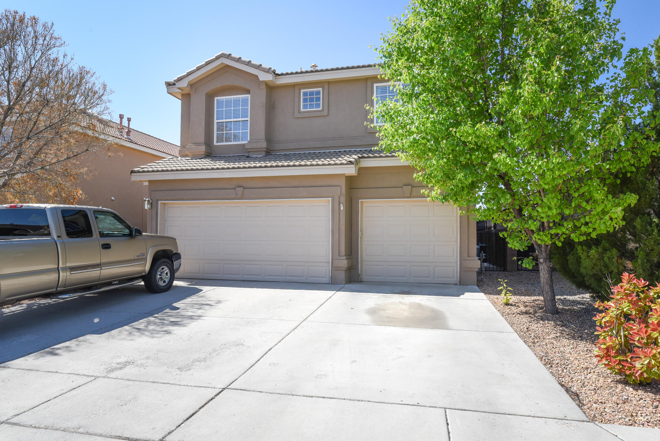 Big 2 story in the heart of Ventana Ranch. There is a bedroom downstairs next to a full bath if needed! If you need a lot of bedrooms, this home has 5! New carpet and interior paint. You will love the 3 car garage for extra parking and storage. Close to Schools and parks.