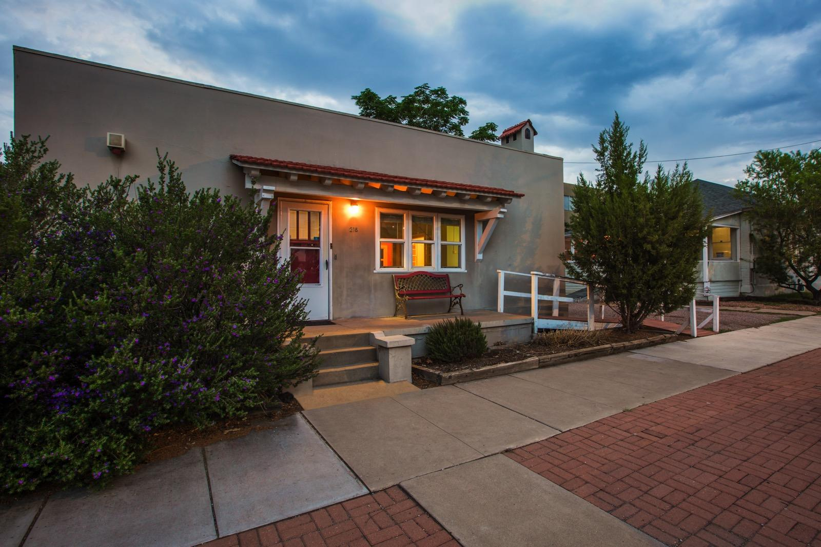Critical Dates:Tour - 6/1 at noon (ask your agent on how to RSVP)Offer deadline - noon - 6/3Located on the western edge of Downtown Albuquerque's Central Business District, NM Apartment Advisors is excited to bring to market these two side by side residences on the southwest corner of 8th and Gold.Hardwood floors, craftsman details, abundance of natural lighting and off street parking are all offered at these properties. Zoning allows you to live, work or live/work onsite.800 Gold SW was recently used as an attorney's office and contains a conference room three large offices, a sunroom, large porch along with a 3/4 bathroom - virtual tour this unit at www.nmapartment.com/gold3d215 8th SW is currently rented as a single family residence with the property being available