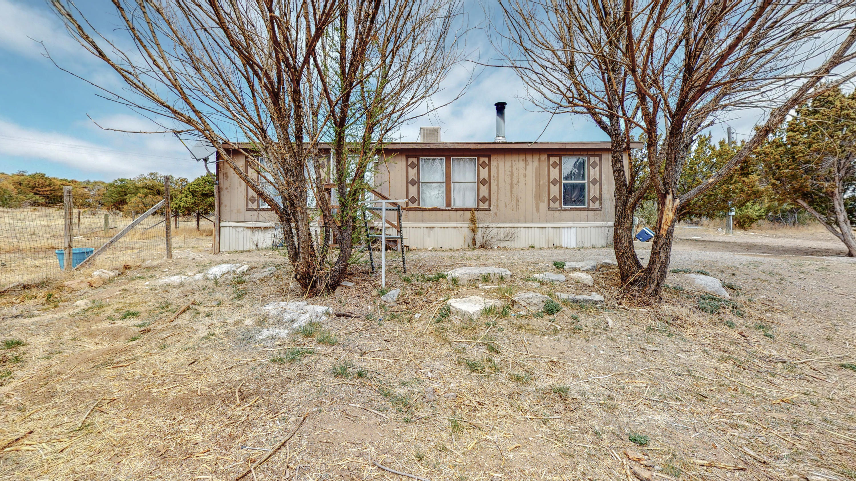 Cute little home with land; 3 bedroom 2 bathroom. This home is ready for you to move into.