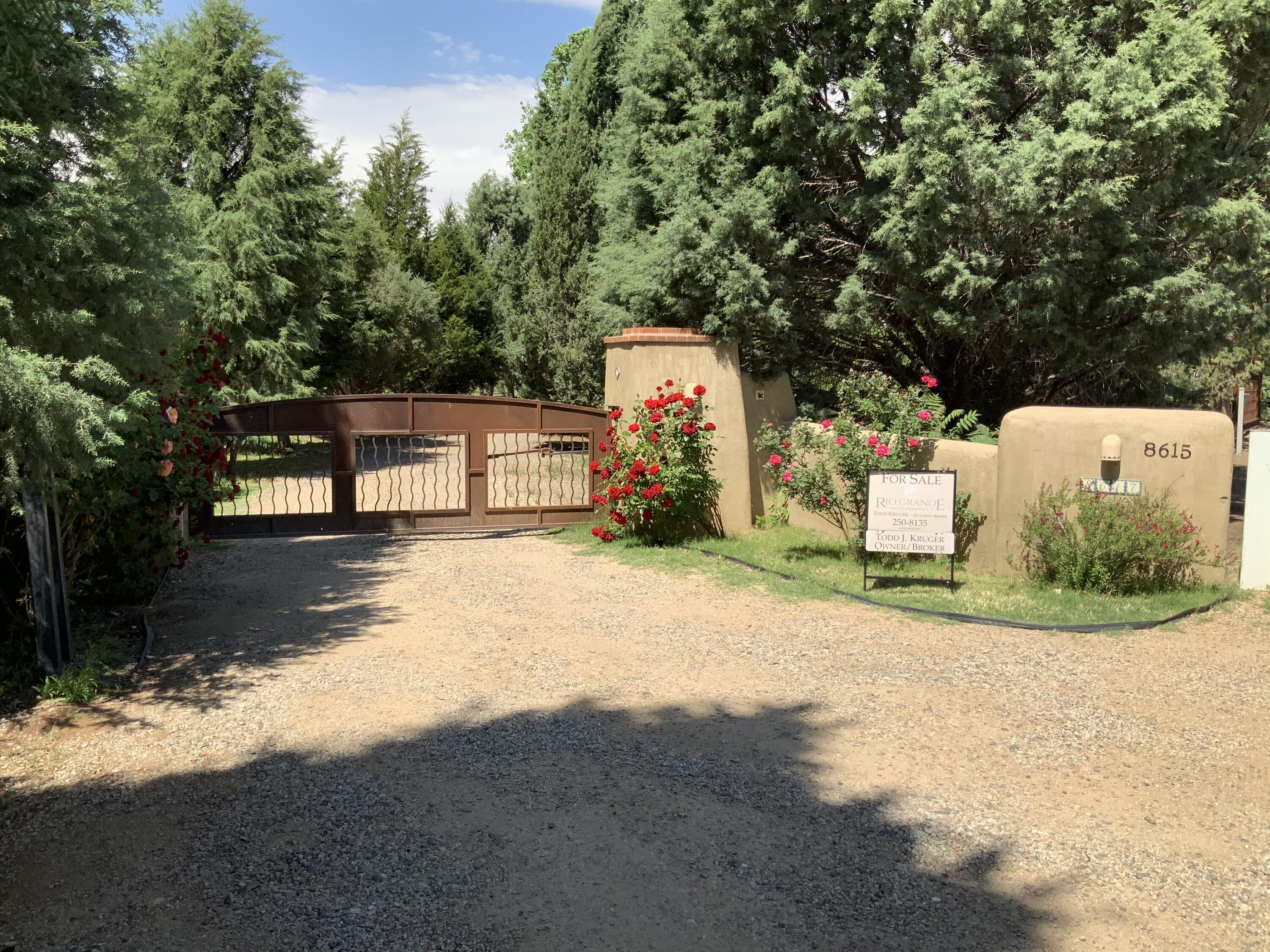 WOW!  Your own north valley paradise of 1.63 acres with a private gate and a spectacular 350 tree apple orchard.  This wonderful cottage was originally built in 2014 and reciently renovated to approx. 1400sqft with new updates throughout.  Owner can build new home up to 10,000sqft here in dedicated building envelope (see attached Summary Plat)Existing home would be wonderful guest house incorporated with new residence!  City Water & City Sewer and irrigation well for orchard.
