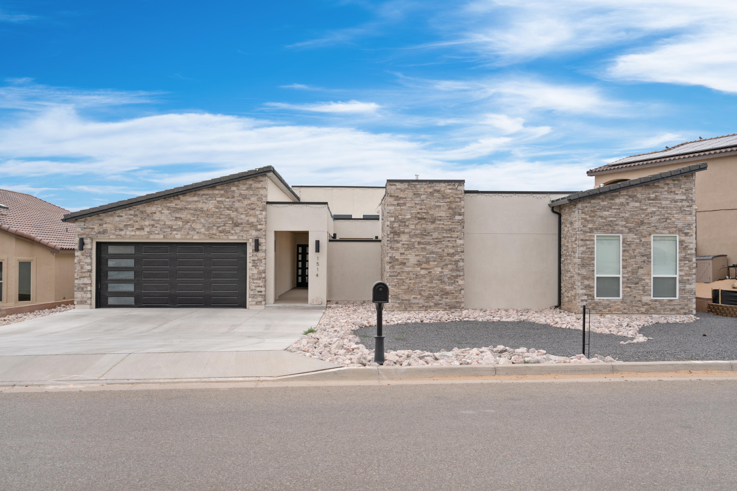 Take a walk through this beautiful modern master piece, This 4 bedroom 4 bathroom 4 car garage  has all that you need in a home. Beautiful custom home located in the highly desired Rio Rancho Estates. This great neighborhood is surrounded by custom homes and is conveniently located near shopping, rust medical center and great dinning! This gorgeous home features 3408 sqft with 4 bedrooms 3.5 baths,  formal dinning with a finished tandem 4 car garage. The open floor plan is second to none with a gourmet kitchen with a huge island with , custom cabinets, granite countertops, built in oven/microwave, all upgraded appliances makes this a great home to entertain. Large master suite with a large walk in closet and spa like bathroom leaves you with nothing to be desired.