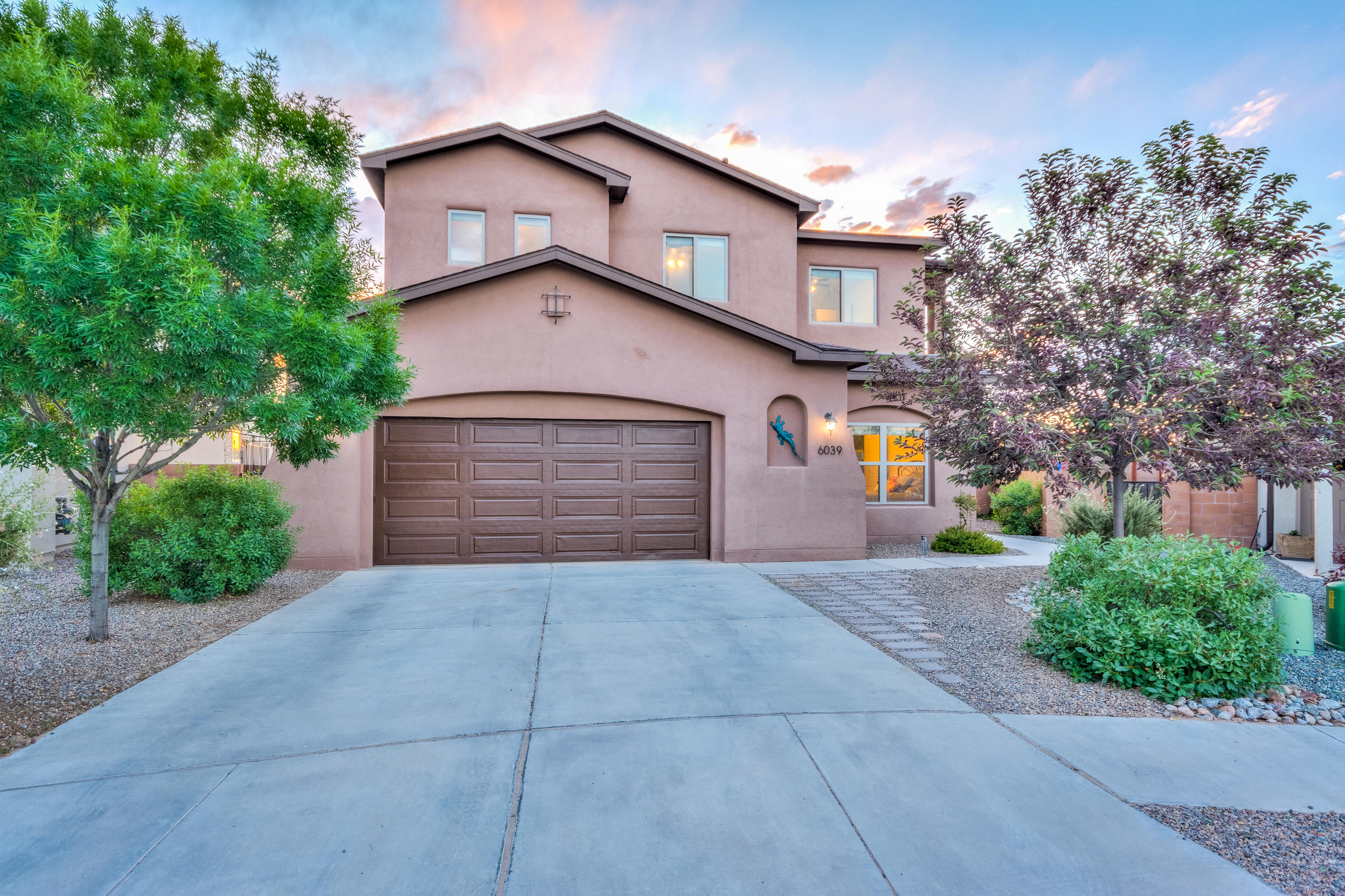 This custom Abrazo house is one of a kind, on a huge lot on a cul-de-sac!  This is the only house with this floorplan!  With 5 bedrooms PLUS an office, PLUS a game/flex room, there are many options!  4 full bathrooms!  The kitchen has granite countertops and stainless appliances.  Great open floorplan perfect for entertaining.  Extra large garage and plenty of closets throughout for storage.  Wired for surround sound!  The backyard is a great size, with fruit trees, fish pond, and beautiful flowers and plants.  Lots of potential with the extra space, and dog run built-in if needed.  This house is close to the elementary and middle schools, with Paradise Hills Park and the pool right across Paradise.  No PID tax in this neighborhood!  Such a great home in a fabulous location.
