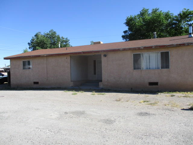 Large living room and kitchen dining area plus 2 large bedrooms and 1 3/4 baths. Two storage sheds on property. Property sold as-is where-is.