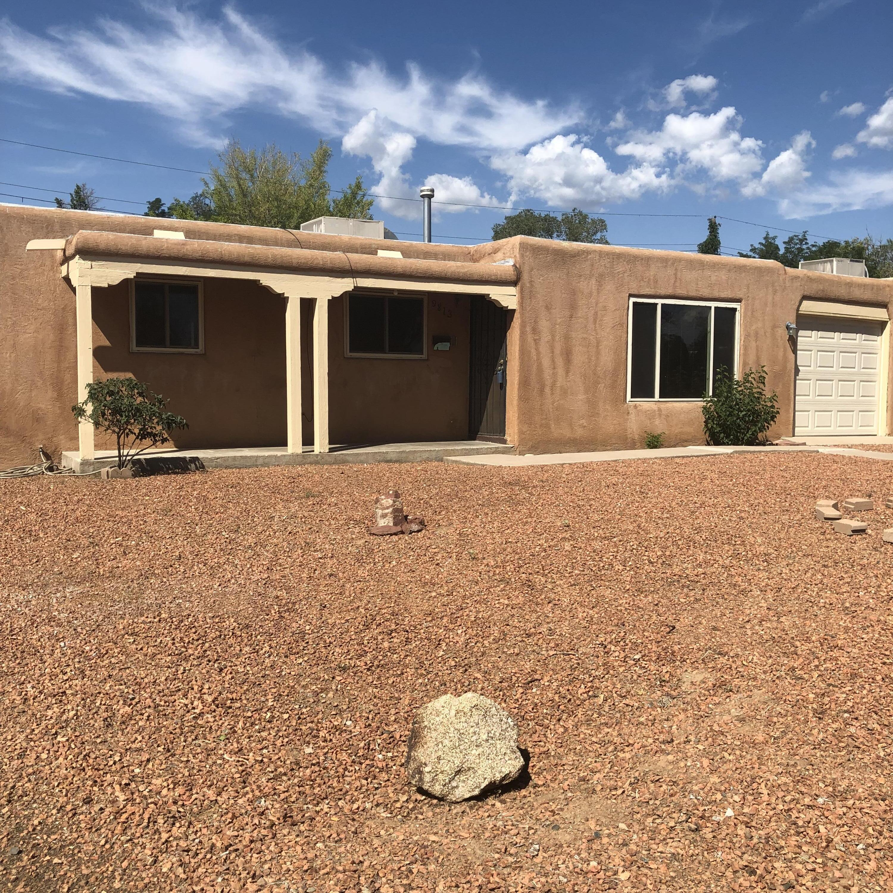 Back on the market...sad words but great opportunity!House priced under appraisal, come and get it!!!This darling home in an established well loved neighborhood could be yours!3 roomy bedrooms 1 bath with an extra bedroom or office for you!  Recent water heater and Air conditioner. Wonderful utility room with washer and dryer included, (no warranties on conveyed appliances) Super solid home is ready for you! The possibilities are endless and exciting at this price range. Potential, passion and possibilities are all yours in this lovely home.Selling AS-is and priced according!