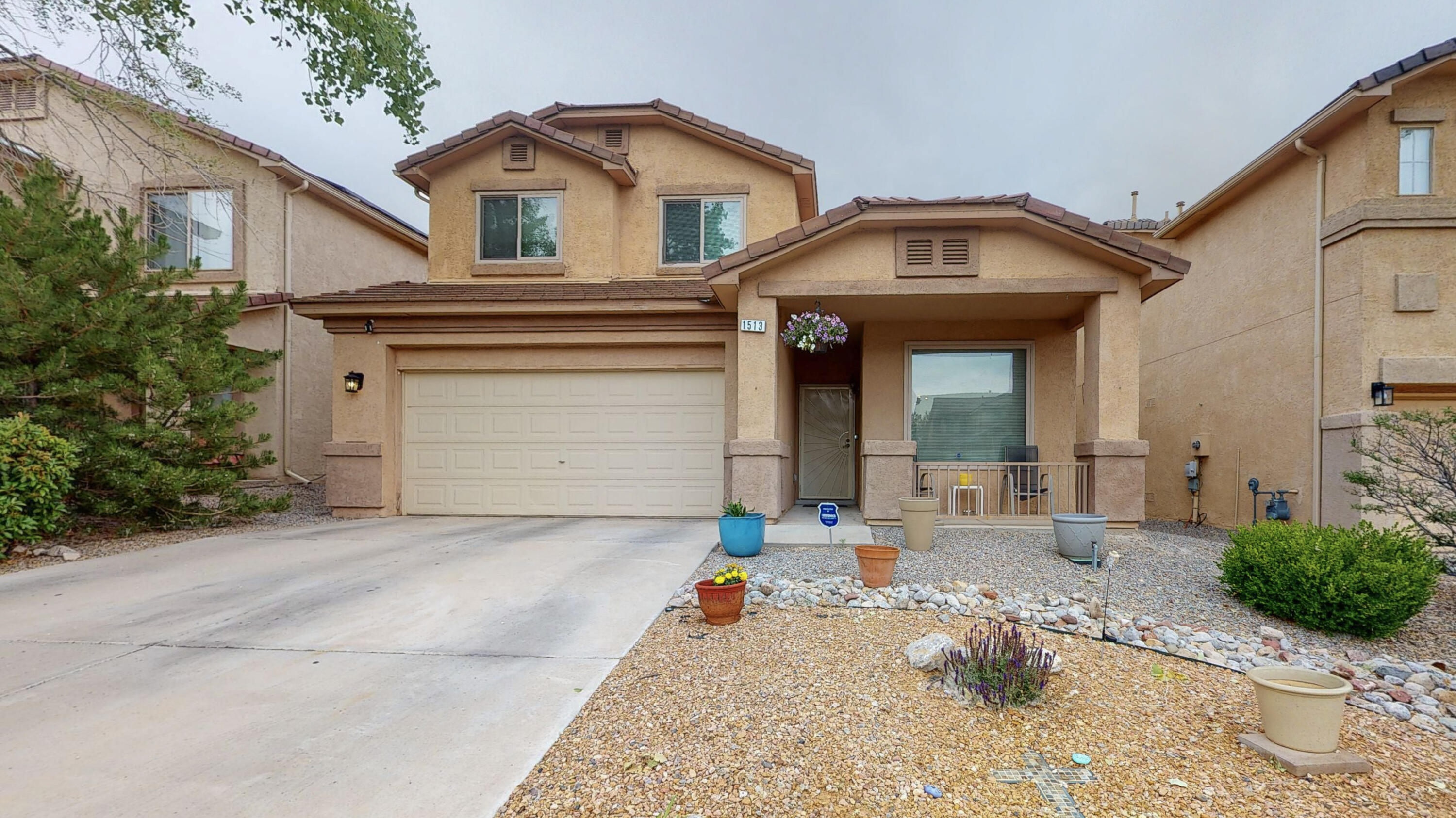 Just in time for Summer! Close to schools, shopping and parks. Your search stops here! Come see this beautiful spacious three bedroom, two and a half bath two story move-in ready gem! Located within the gorgeous sought after Cabezon Community!