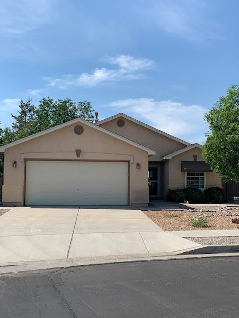 Quiet, 1 level, fully landscaped corner lot in Ventana Ranch w/refrigerated air. Huge amount of storage!6 skylights, 2 pantries & numerous plant ledges. 14x10 Bedrooms. Great BY Views! Cute 3-hole Putting Green.BY Porch has extended area to enjoy.Kitchen cabinets changed to crisp, clean white ones Buyer to assume solar lease-huge savings on Electricity Bill**Updated through the years: Roof, Furnace, ref air, kitchen, interior doors, tile, mirrored wall, additional patio cover, exterior lighting, landscaping, turf, gutters, windows-storm door and sliding door replacements plus walls & extensions. Great home has been loved! 4 blooming trees now-peach tree is full of peaches!
