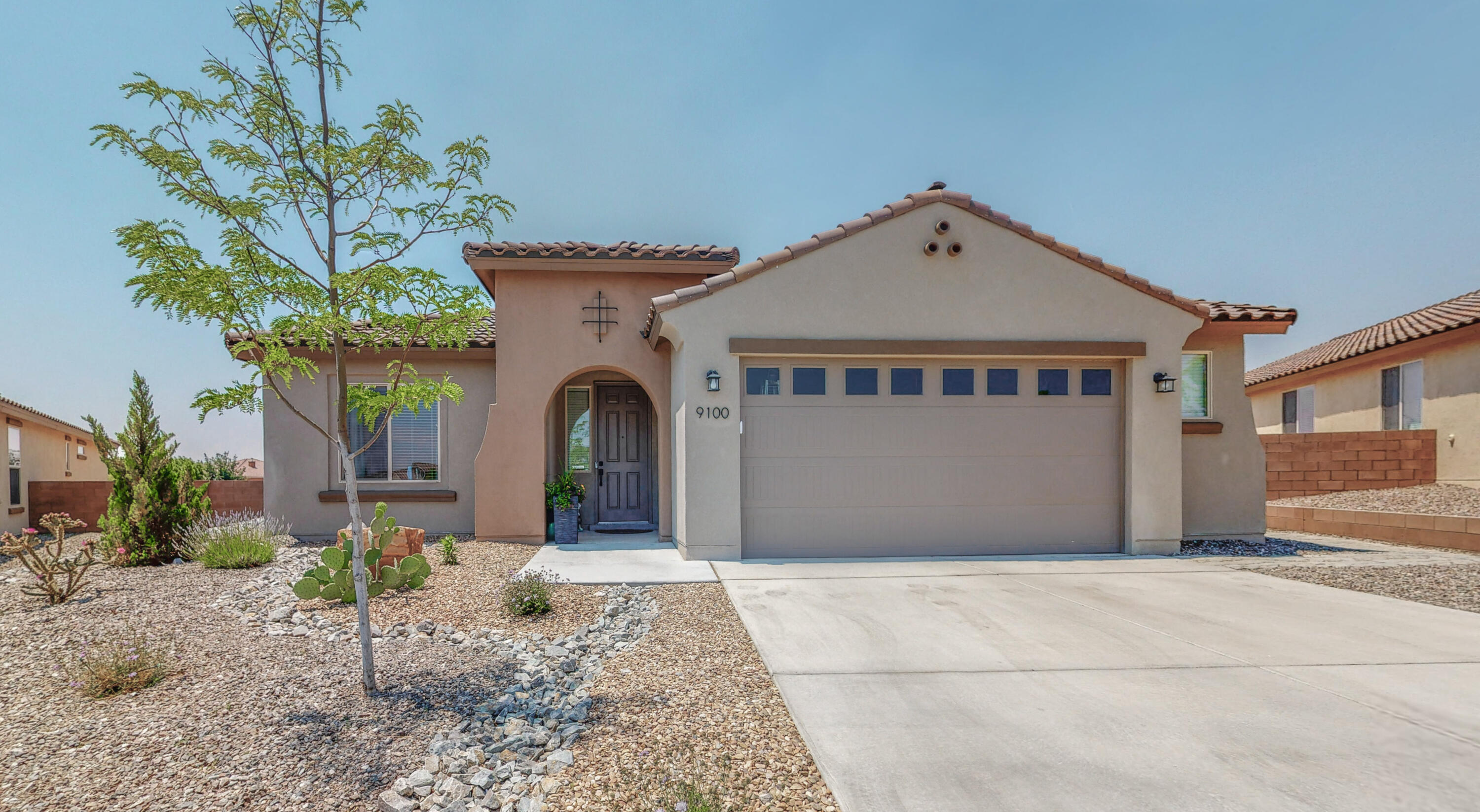 Amazing Pulte home in the highly sought after Mirehaven subdivision!! This property showcases a large open floor plan with superior craftsmanship and attention to fine detail. Chef kitchen boasts granite counter tops, center island, tile back splash and stainless appliances. Features 3 bedrooms, a home office and flex space! Custom walk in Master shower! Wood tile flooring! Oversized patio doors open the house to the tastefully landscaped back yard with covered patio providing the perfect stage for entertaining and family fun. Hot tub! In ground trampoline! Amazing views! Oversized Lot! Close proximity to parks, walking trails and amenities. Silver rated green home! Tank less hot water heater! Refrigerated air! Service room sink! Solar! Call a Realtor today to schedule a private showing.
