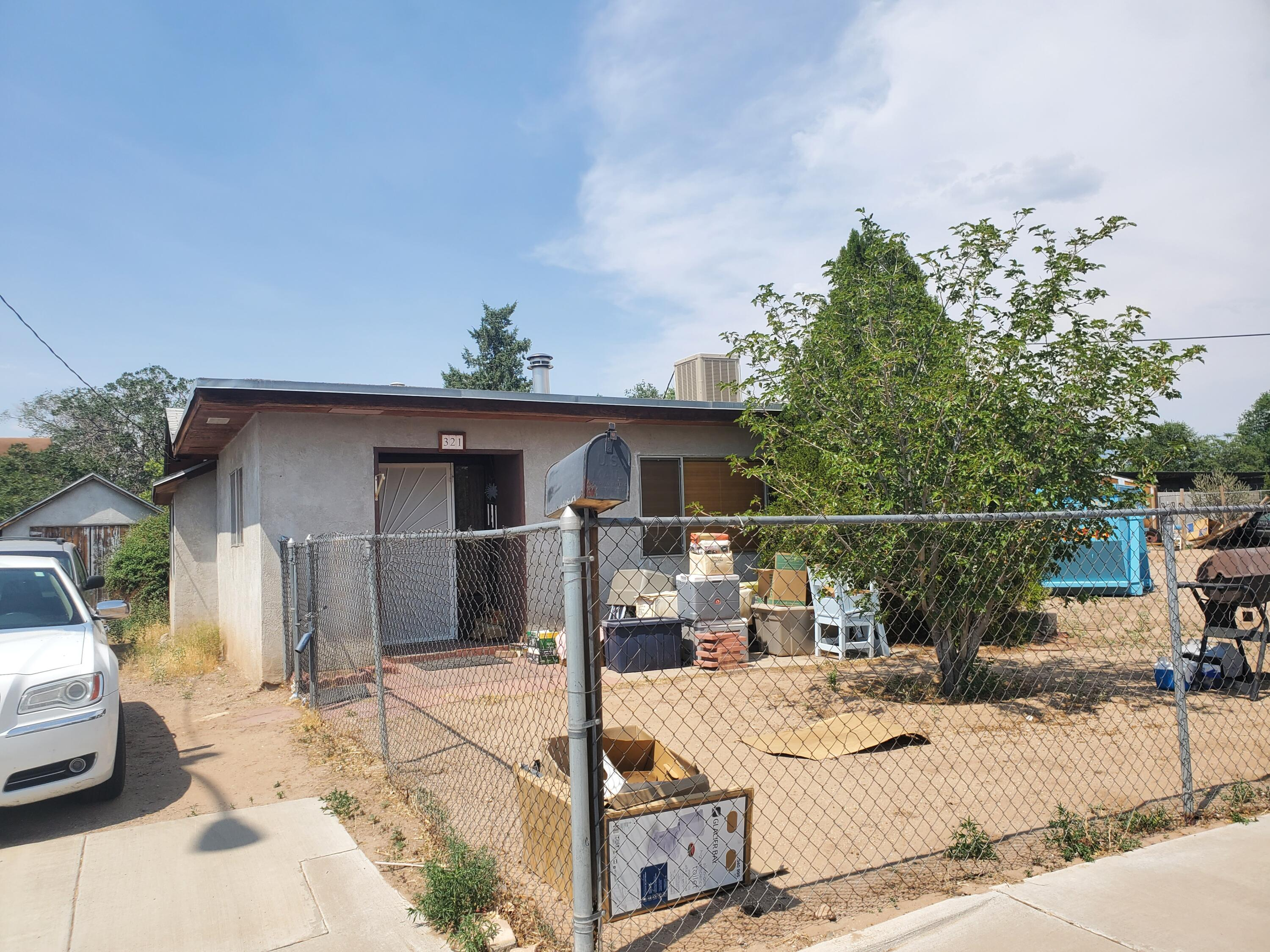 Come refurbish this home or start from scratch and build your dream home on this HUGE lot!!! Sold As-Is, all information to be verified by buyer.