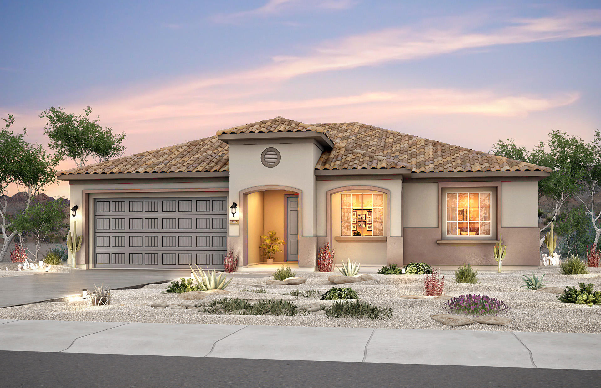 Brand new, never lived-in Pursuit floorplan in our premier 55+ active adult community, Del Webb Mirehaven. Enjoy brand new appliances, new carpet, new A/C, new tankless water heater and so much more! Home features include tile in extended areas, chef kitchen with built in appliances, exterior fireplace, and granite countertops. This community boasts resort style amenities such as a junior Olympic swimming pool, spa, fitness room, sports courts, walking & biking trails, and more!