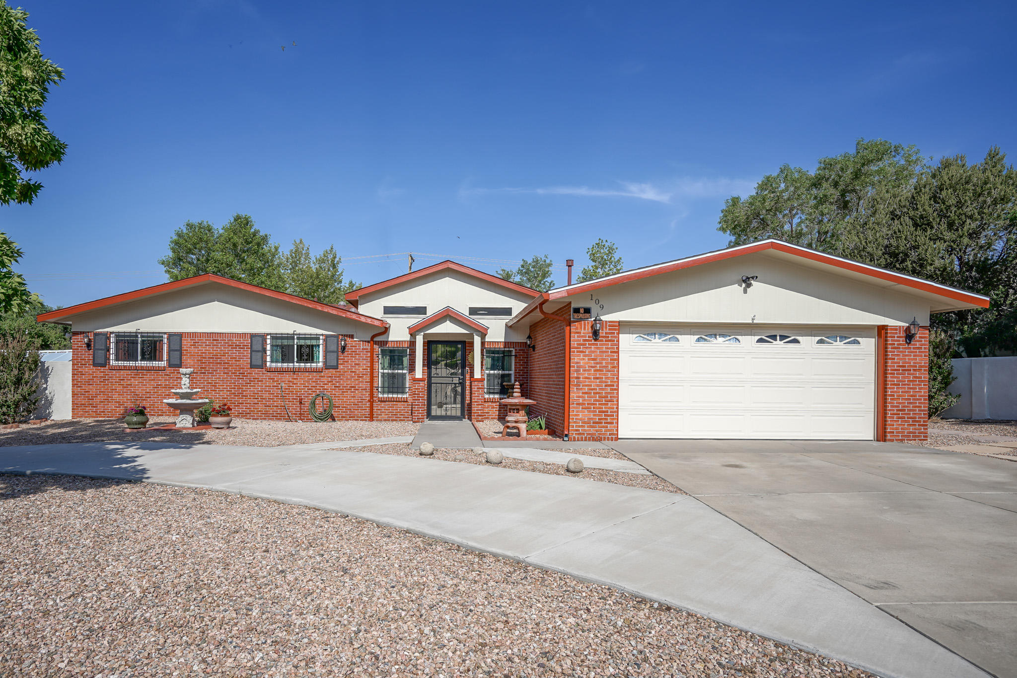 Single Story Home located in the foothills in Supper Rock! Pride of ownership shows throughout this home inside and out! Charming Curb appeal with hand-stained and painted brick, a large circular driveway, and room for an RV! Situated on 1/3 of an acre! Updated Custom Designed kitchen with pull-out drawers and accessories, open picture cabinets, large pantry, and stainless appliances! Rest easy knowing that a NEW Roof was installed a year ago and new Champion windows two months ago! Unwind in the tranquil backyard oasis with a lush green lawn, a lower-tiered section w/ a pond, and 13 mature shade trees! Extra room to store items in the two storage sheds in the backyard! The front courtyard has been enclosed into a sunroom. Backyard access! Quick access to I-40! Minutes from the foothills!
